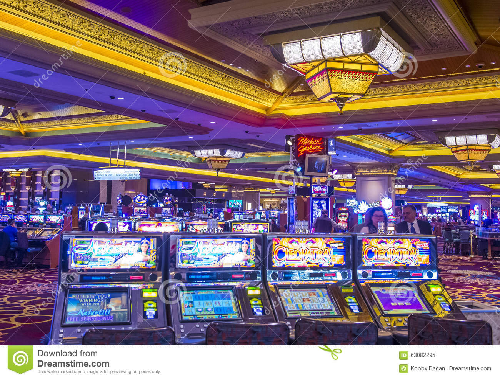Download Baie de Las Vegas-Mandalay image éditorial. Image du boulevard - 63082295