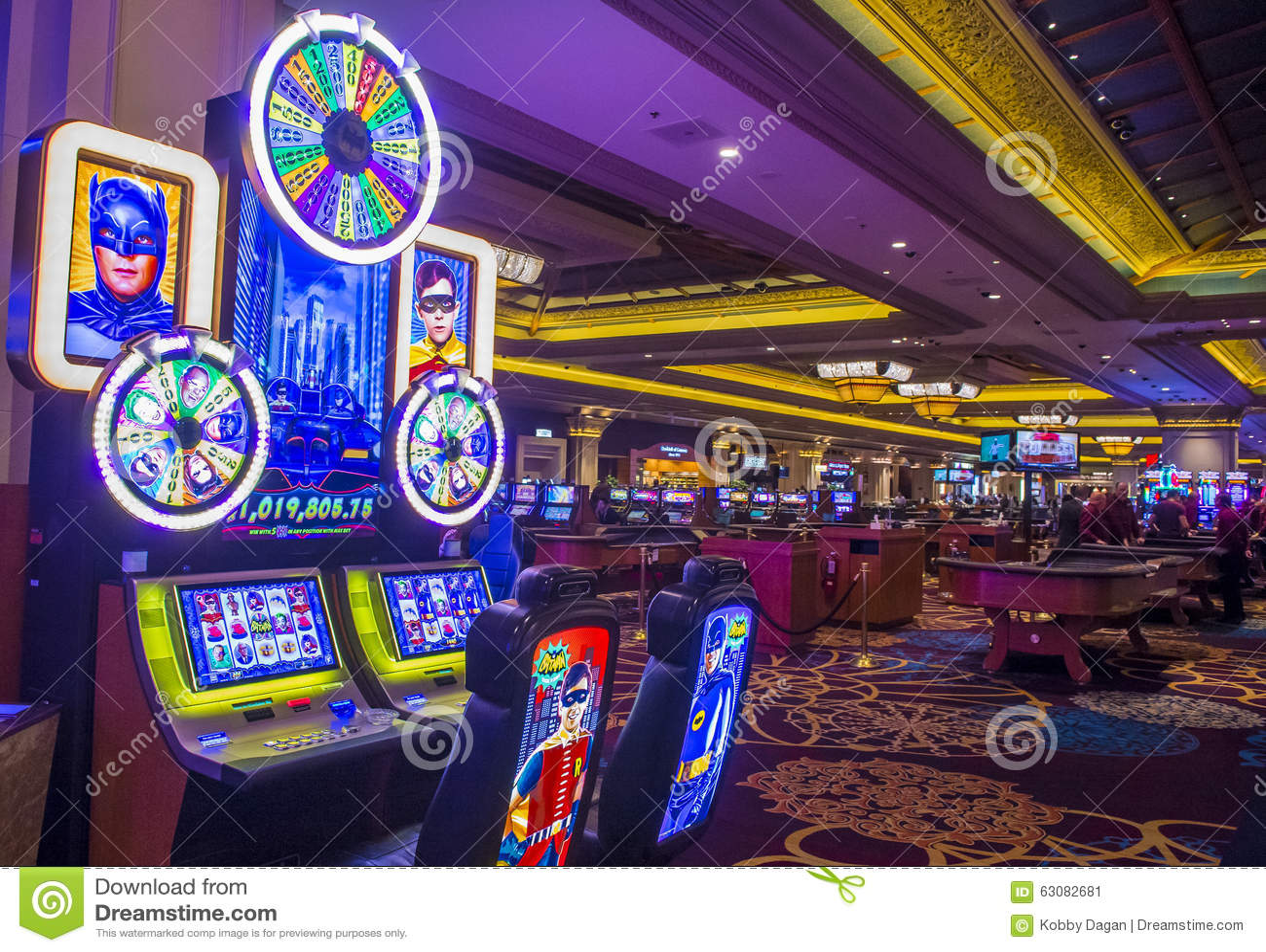 Download Baie de Las Vegas-Mandalay photo éditorial. Image du bande - 63082681