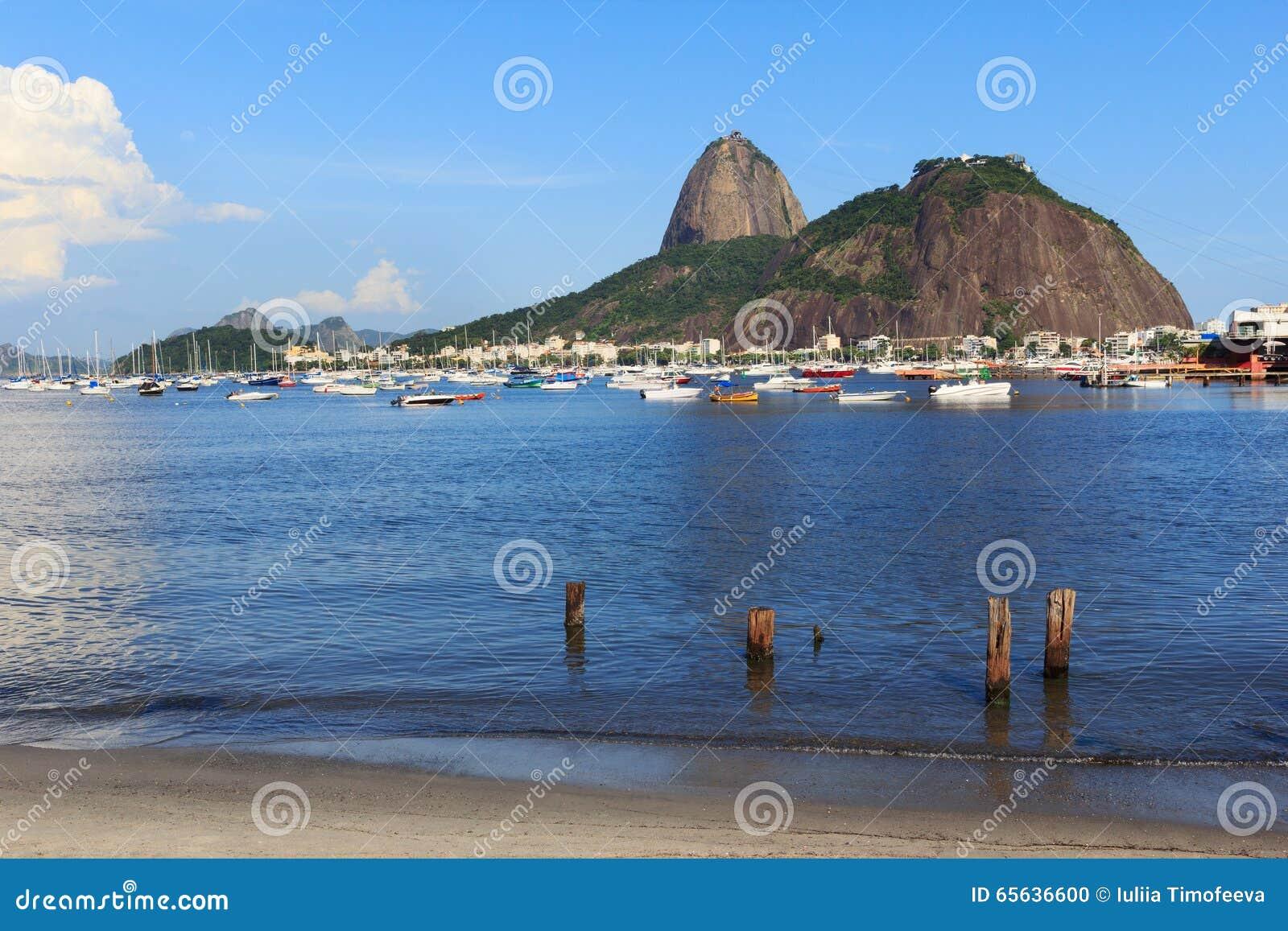 Baie de montagne Sugarloaf et de Guanabara, Rio de Janeiro
