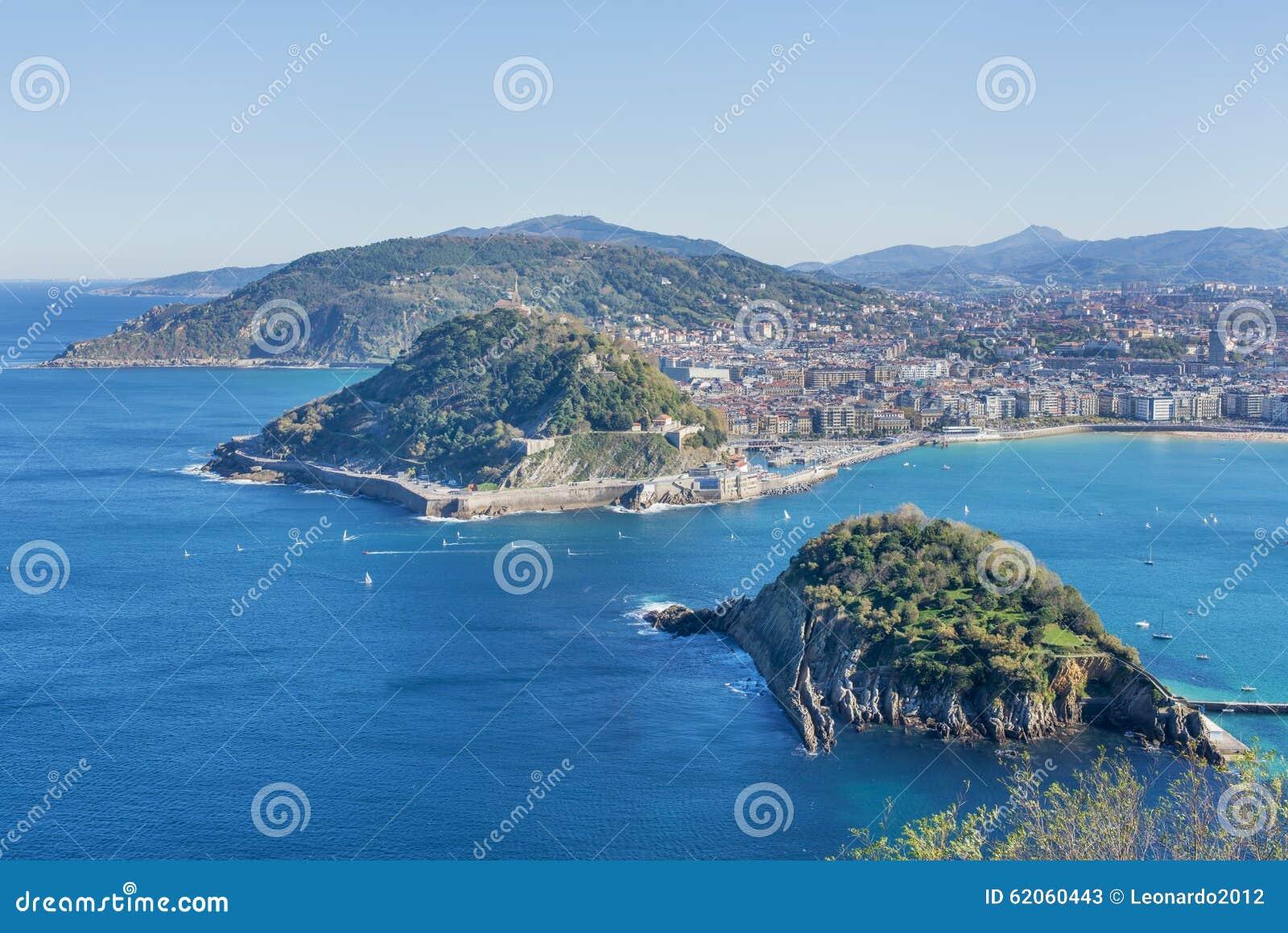 Baie de san sebastian gipuzkoa pays basque espagne - Office de tourisme san sebastian espagne ...