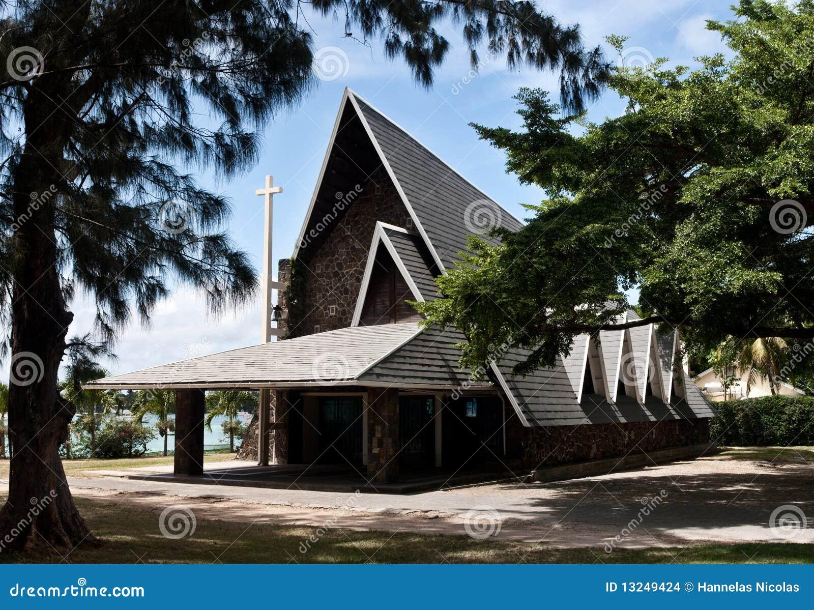 Baie kościelny uroczysty Mauritius