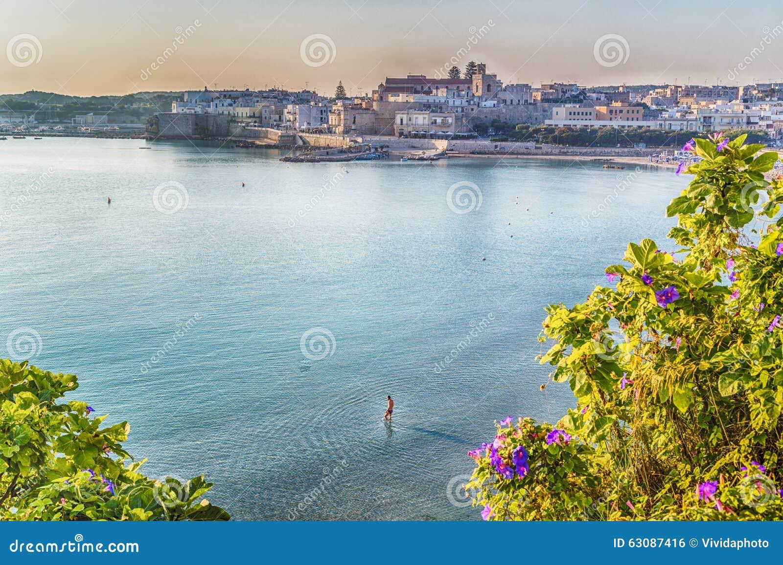 Download Baie sur la Mer Adriatique photo stock. Image du grec - 63087416