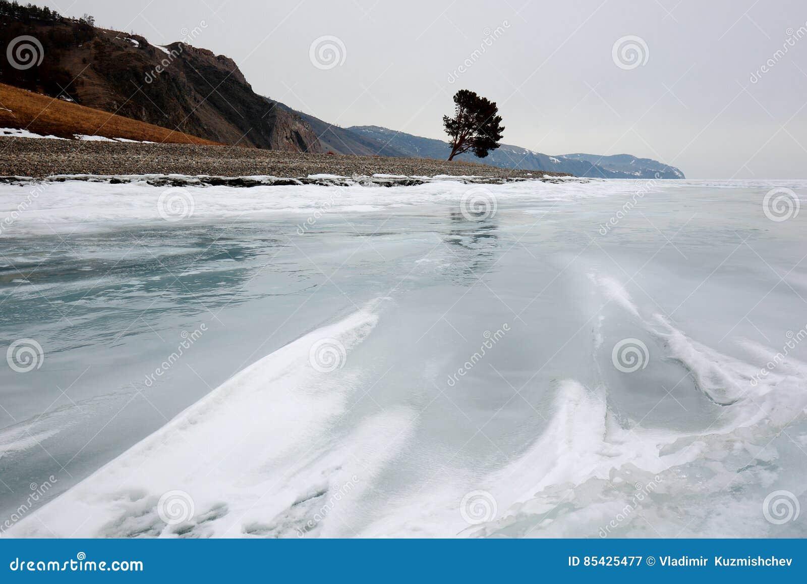 Baikal χειμώνας