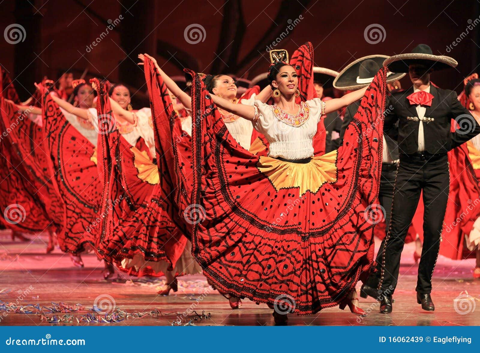Bailado folclo rico de México