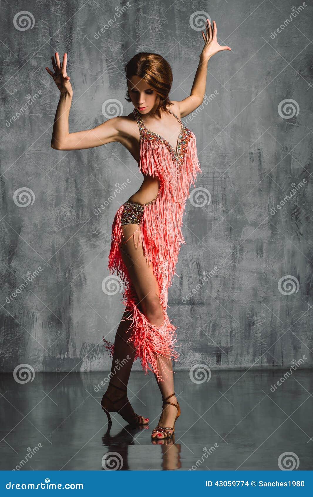Bailarín del estilo del Latino