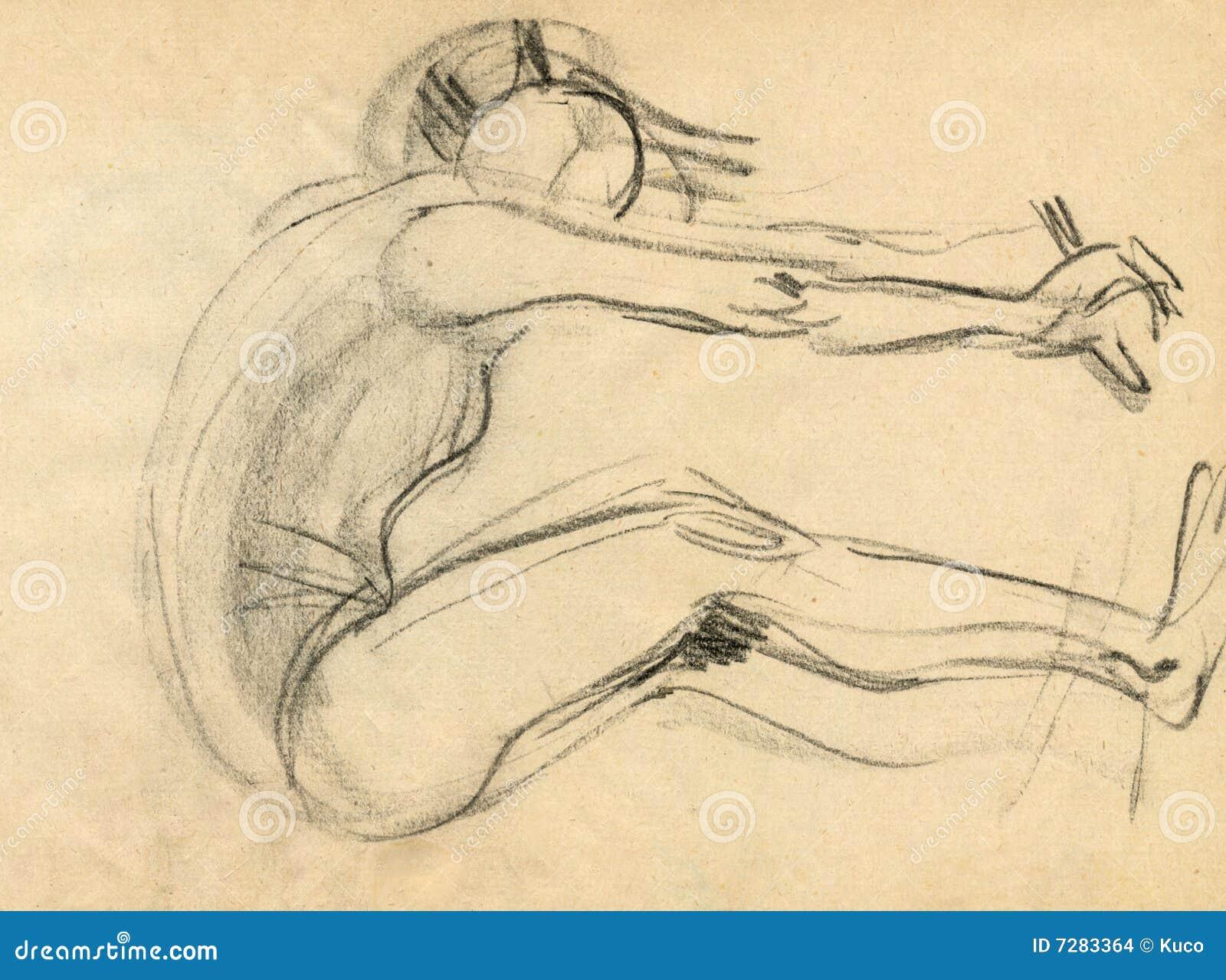 Bailarina, drenando 8