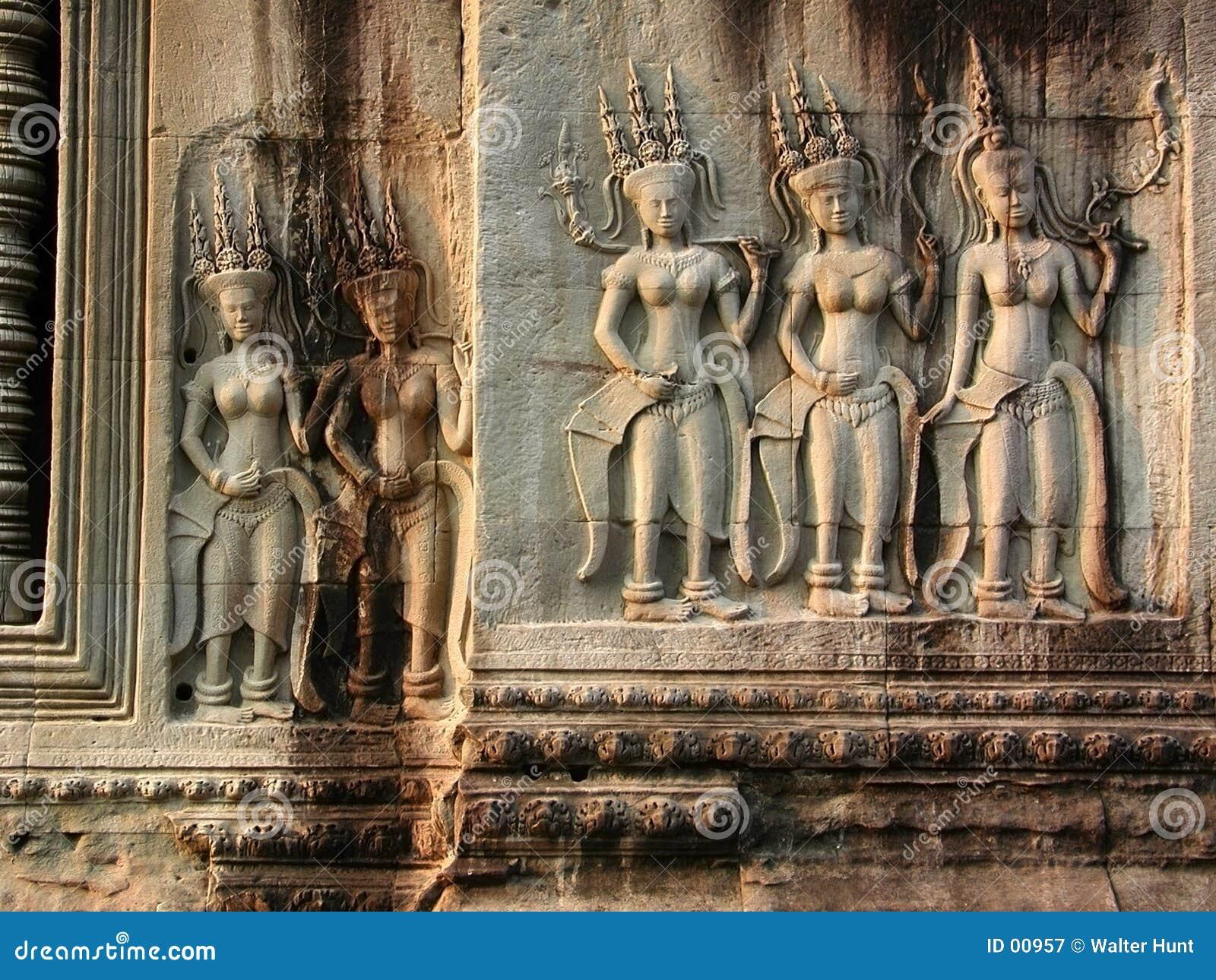 Bailarines de Devi
