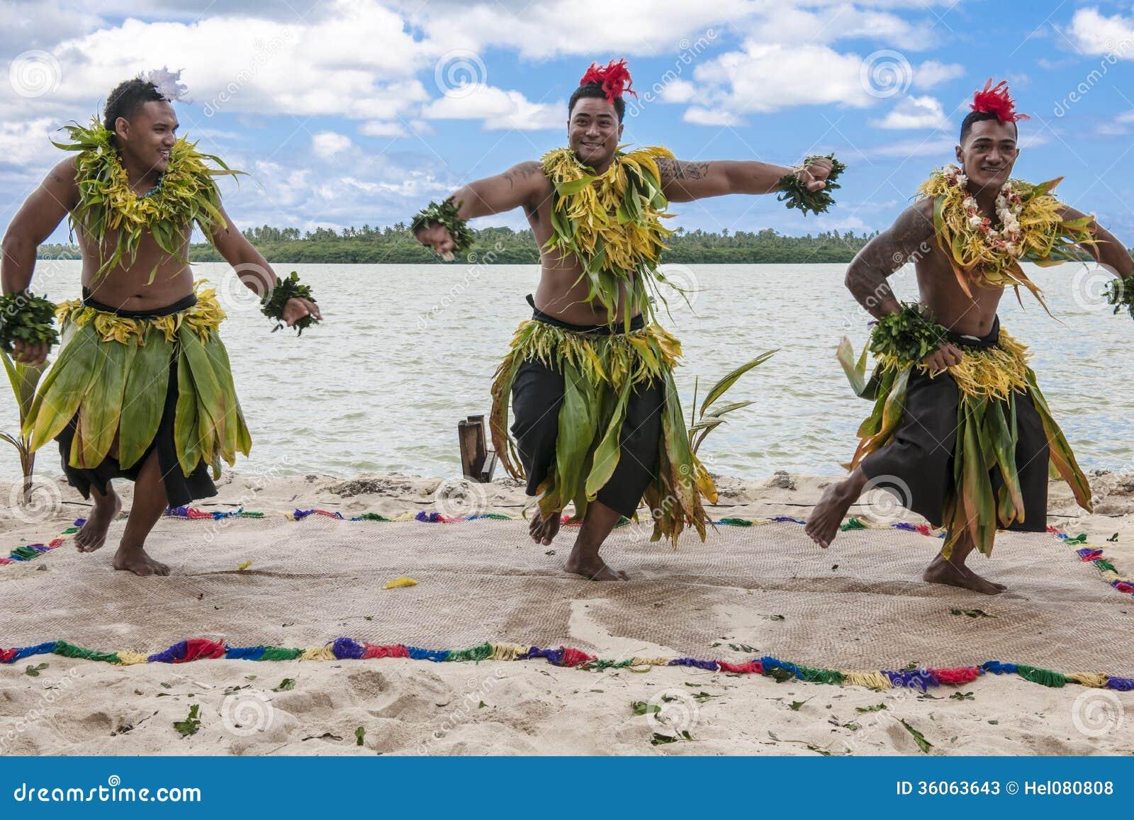 Bailarines en el South Pacific