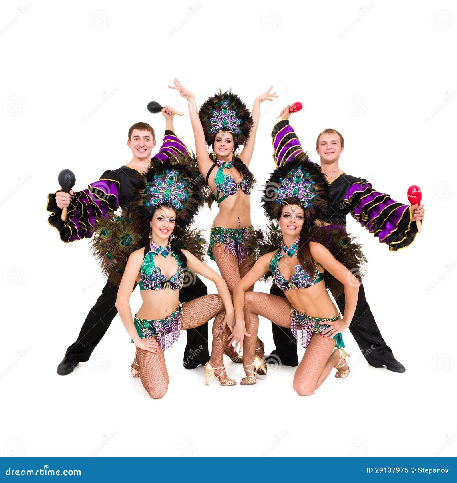 curvo bailarines trajes