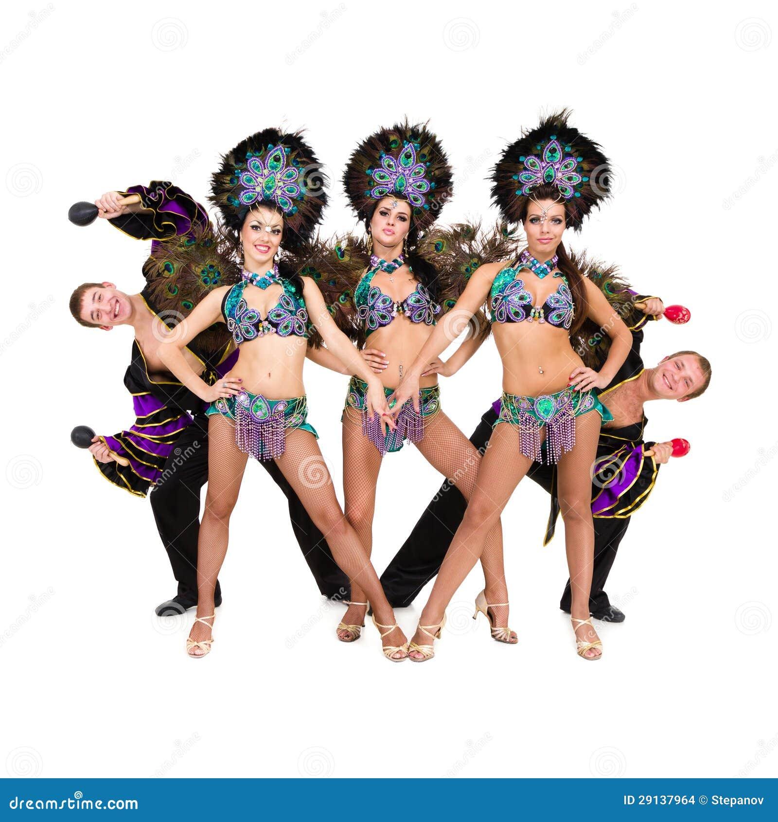 Bailarines en trajes del carnaval imagenes de archivo - Trajes de carnaval de epoca ...