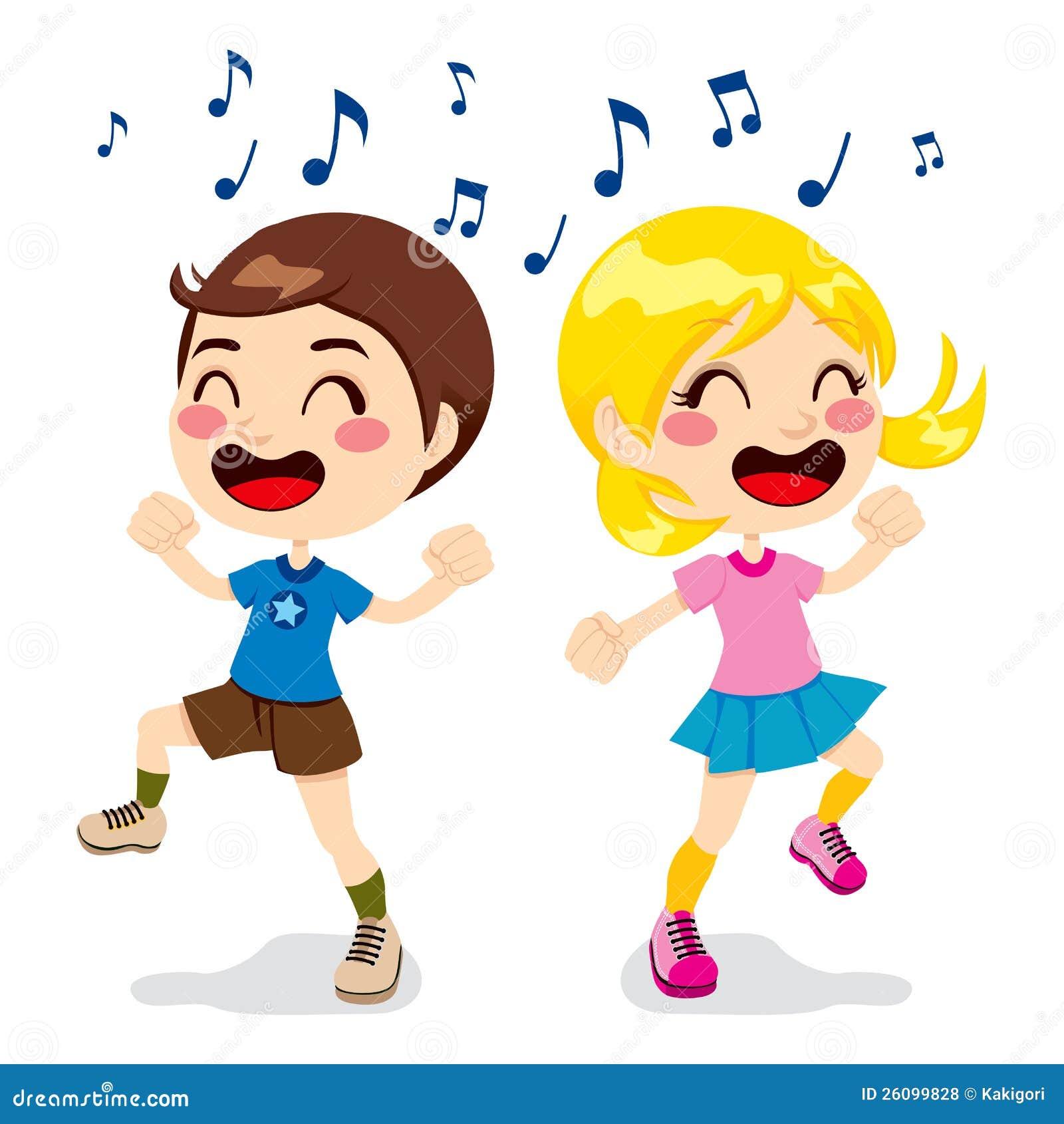 Dos ni 241 os un muchacho y una muchacha que bailan por completo de