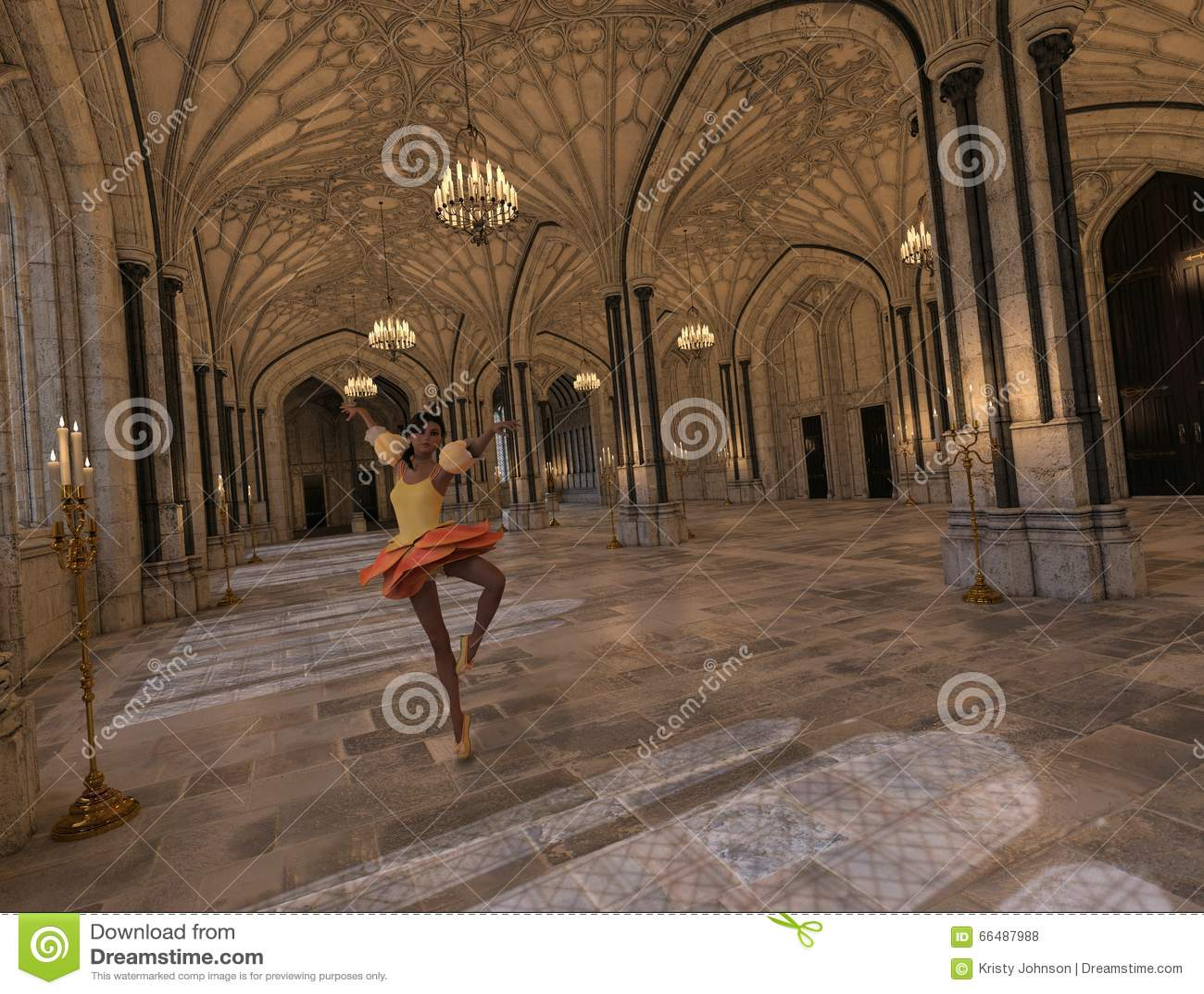Baile en el salón de baile