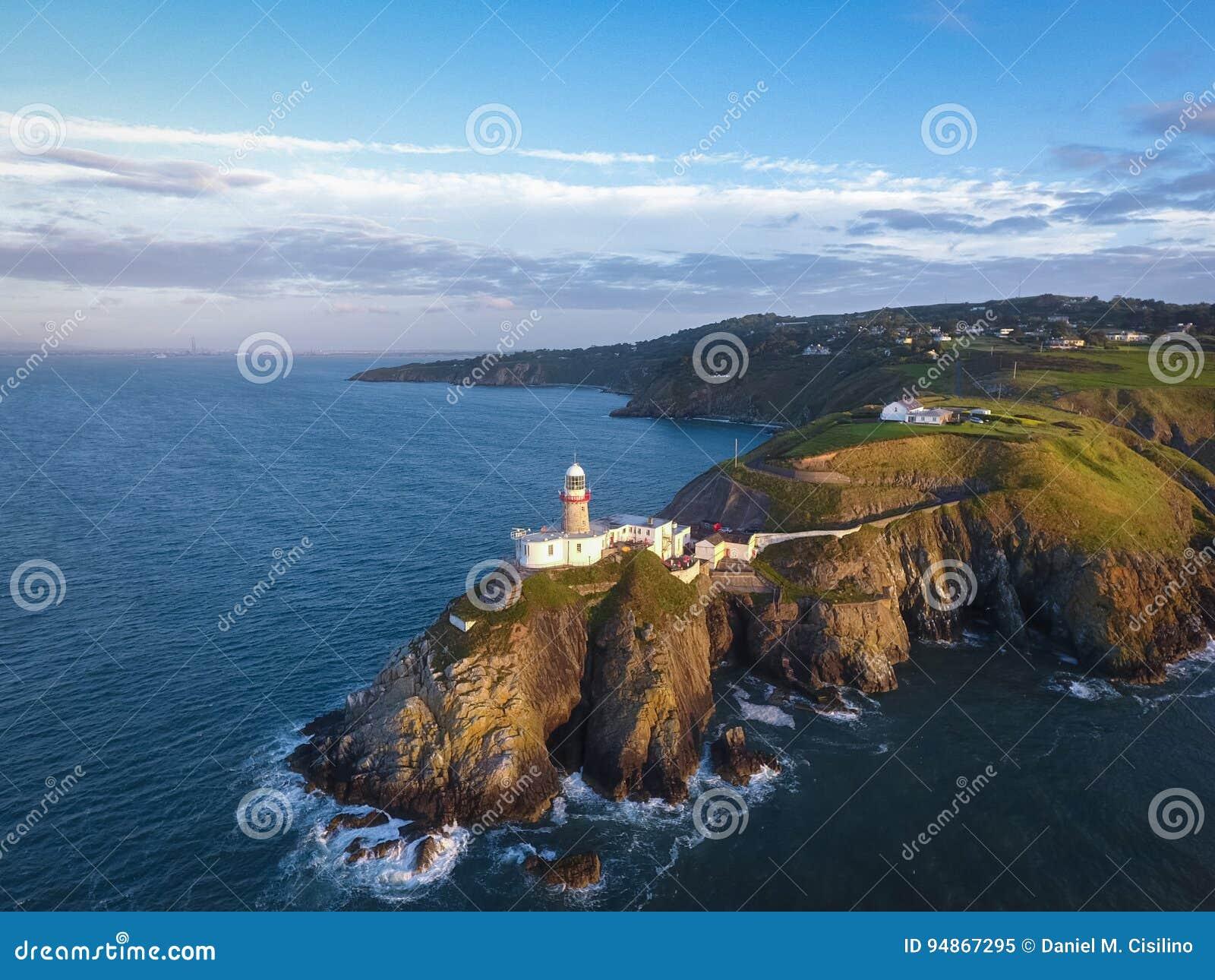 Baily маяк Howth Ирландия