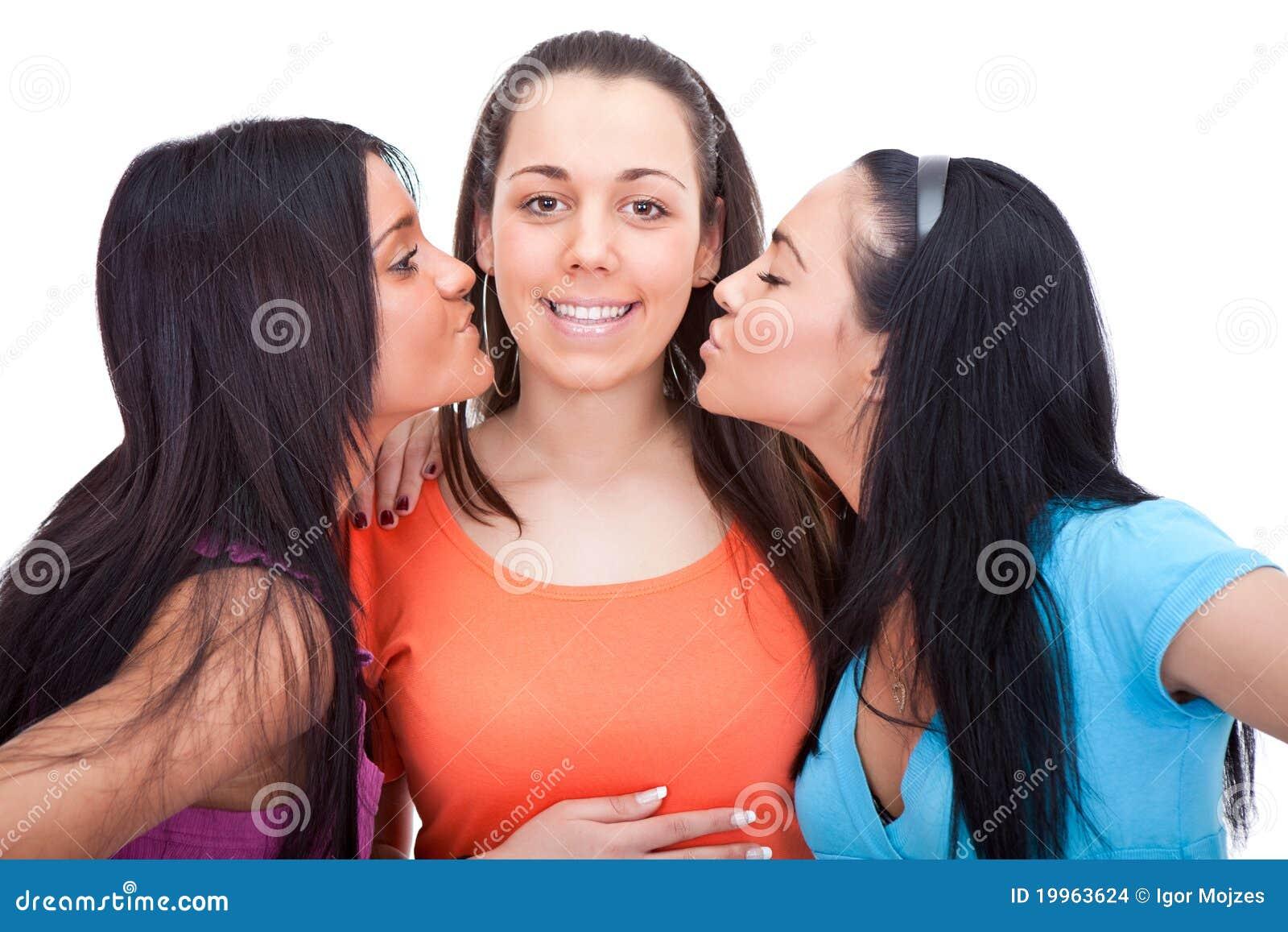 baiser deux amis
