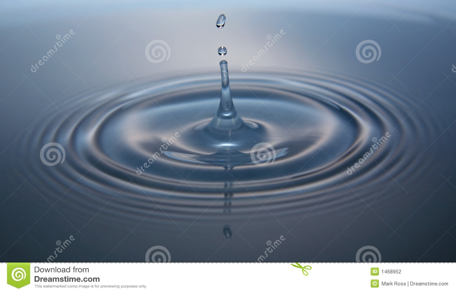 Baisse de l eau avec l ondulation