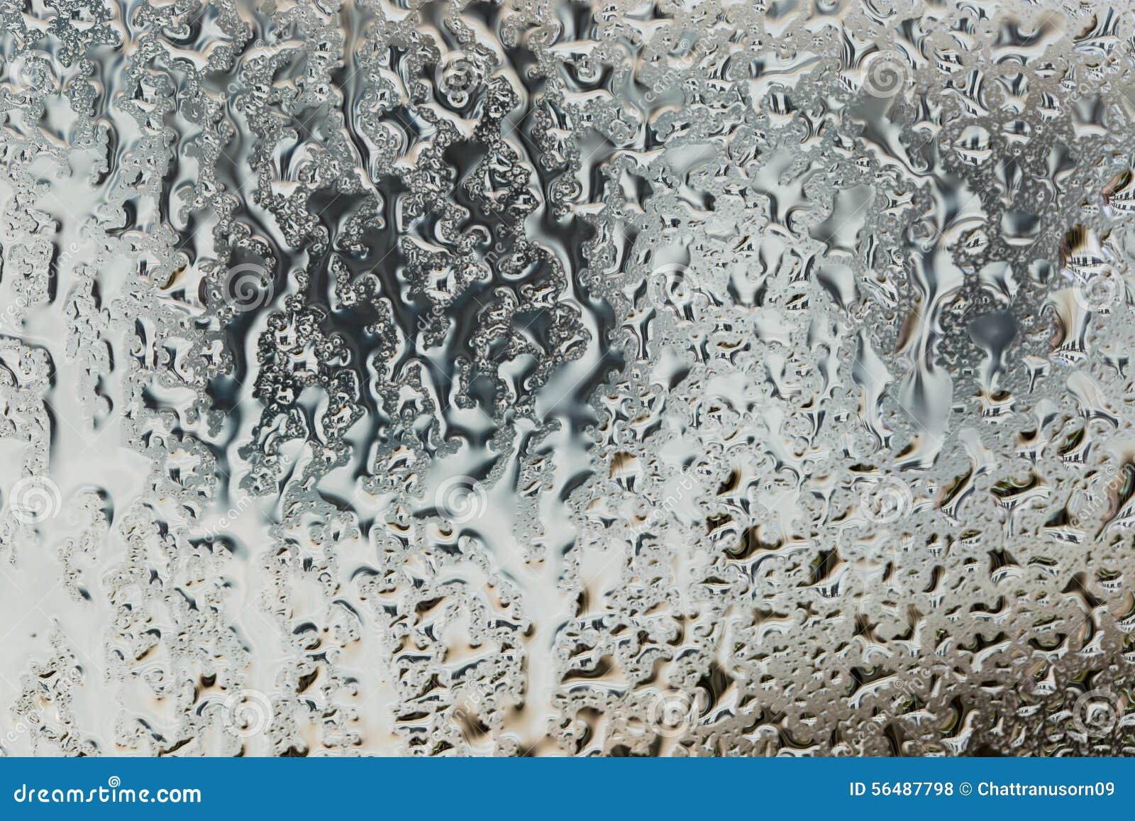 Baisse de l eau sur la fenêtre