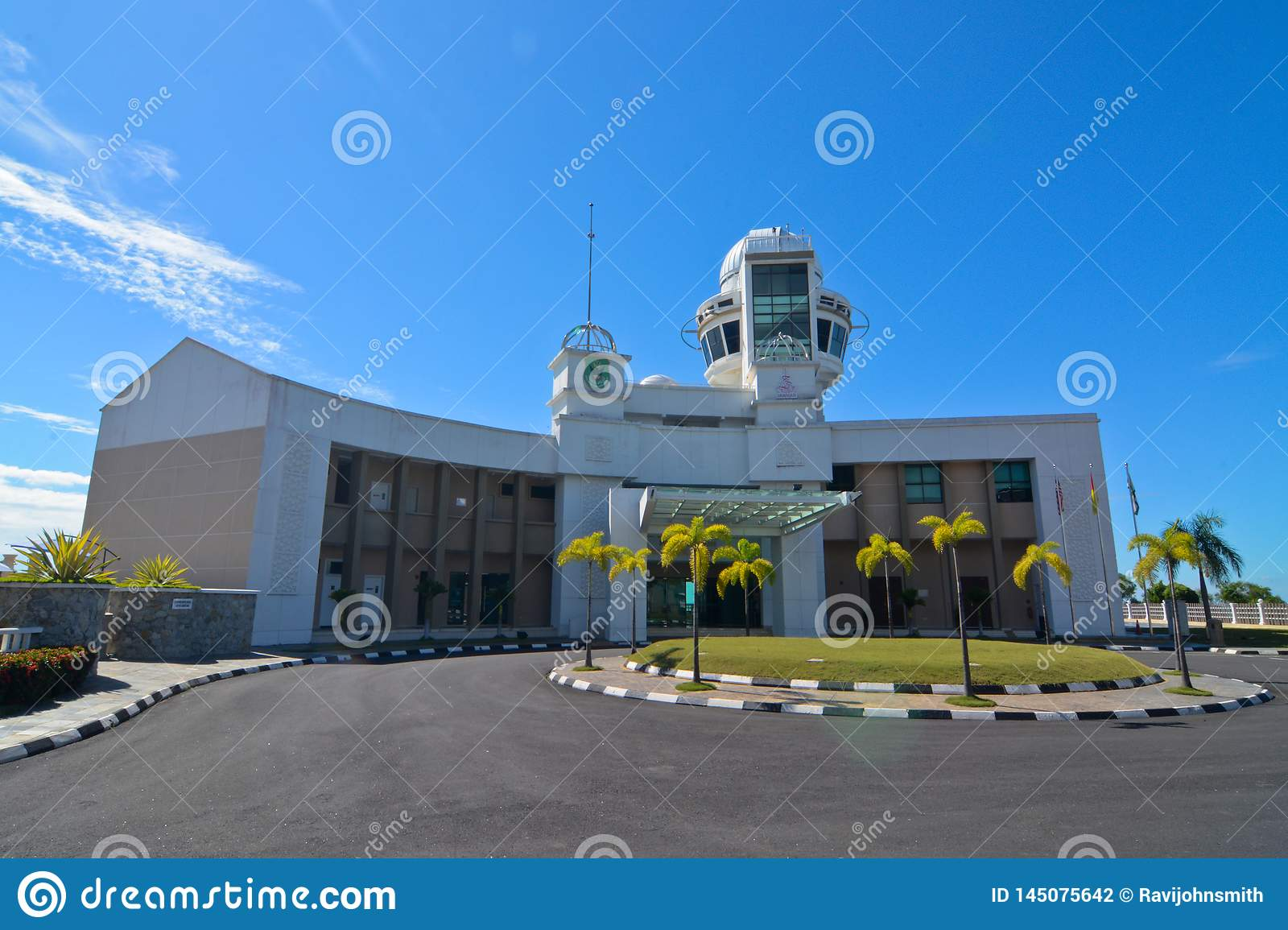BAITUL HILAL OBSERVATORY CENTRE Editorial Photography - Image of
