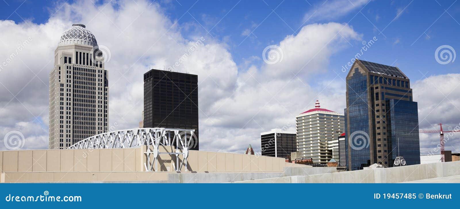 Baixa panorâmico de Louisville