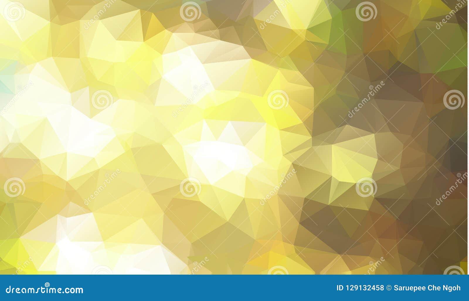 Baixo fundo poli abstrato dos triângulos em cores verdes Fundo poligonal abstrato do mosaico da luz branca, ilustração do vetor,