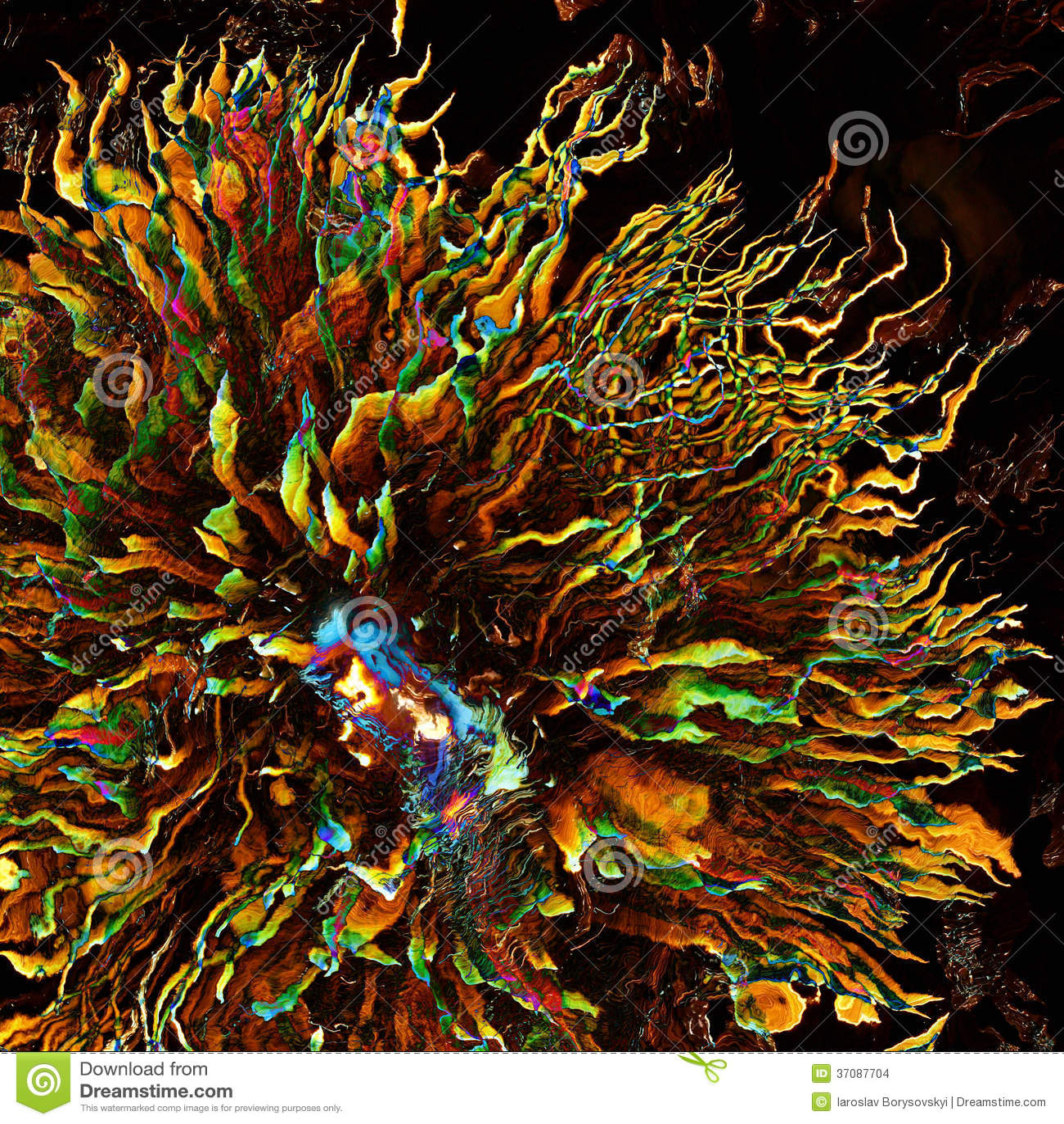 Download Bajka. Futurystyczni Stubarwni Jellyfish W Ciemności. Ilustracji - Ilustracja złożonej z meduza, niezrównoważenie: 37087704