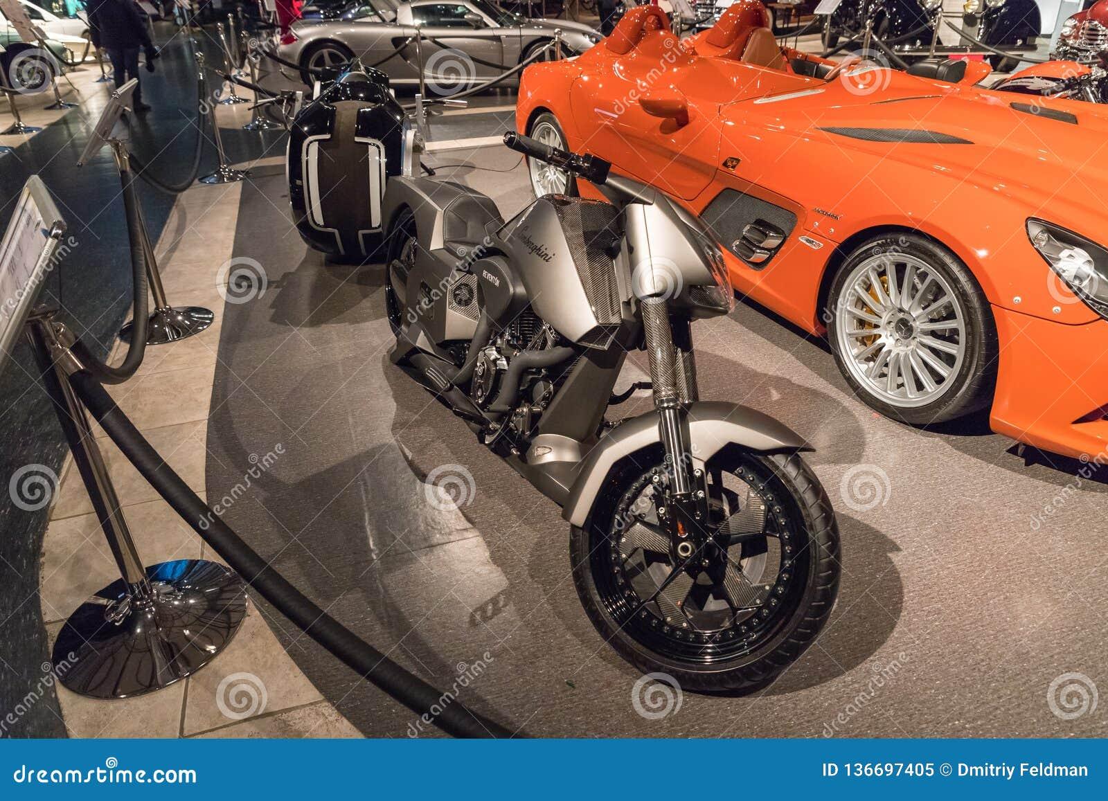 Bajzath Bike Lamborghini Type Reventon 2013 At The Exhibition In The