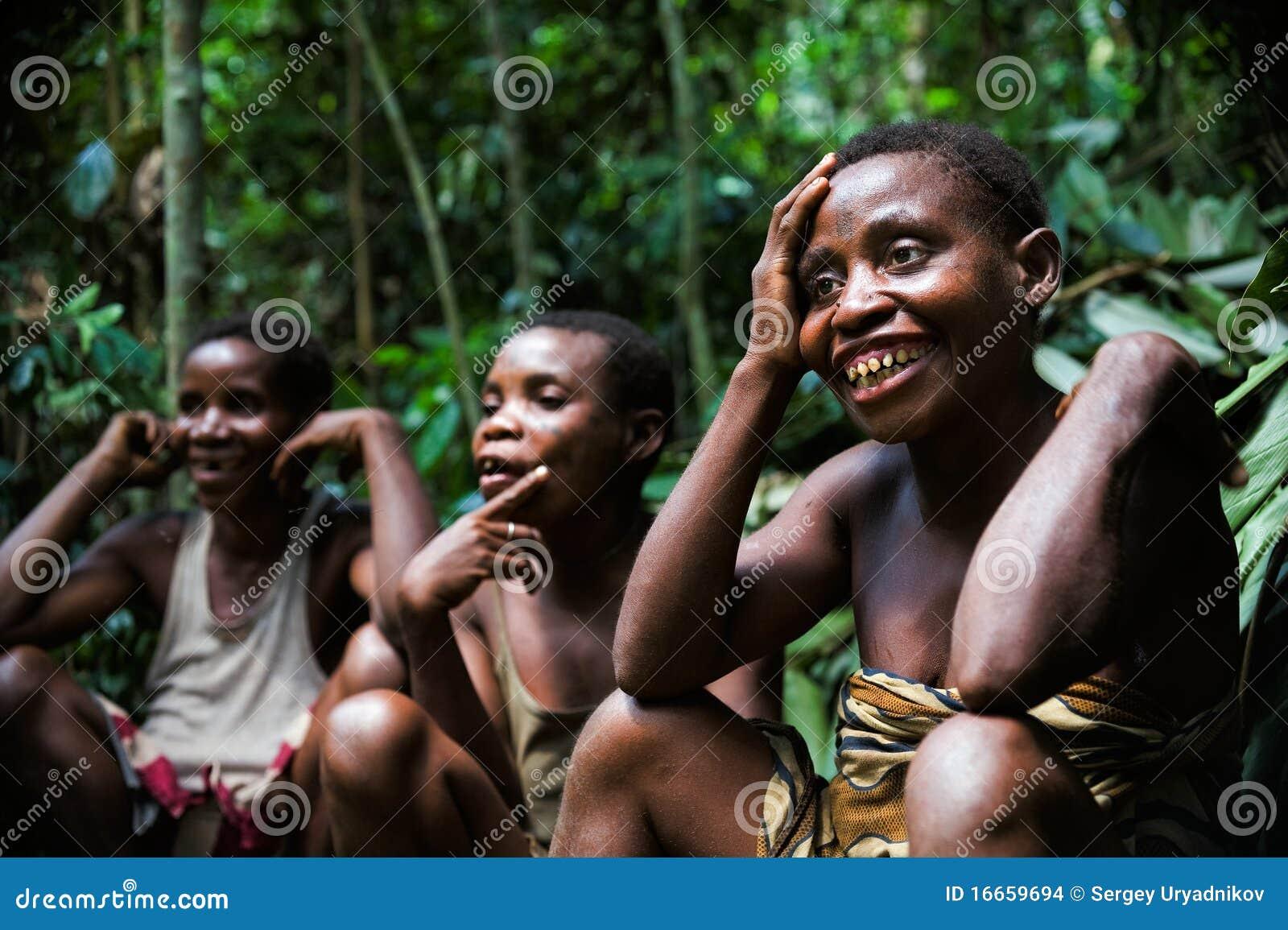 Baka Pygmies Women Editorial Stock Image Of Culture