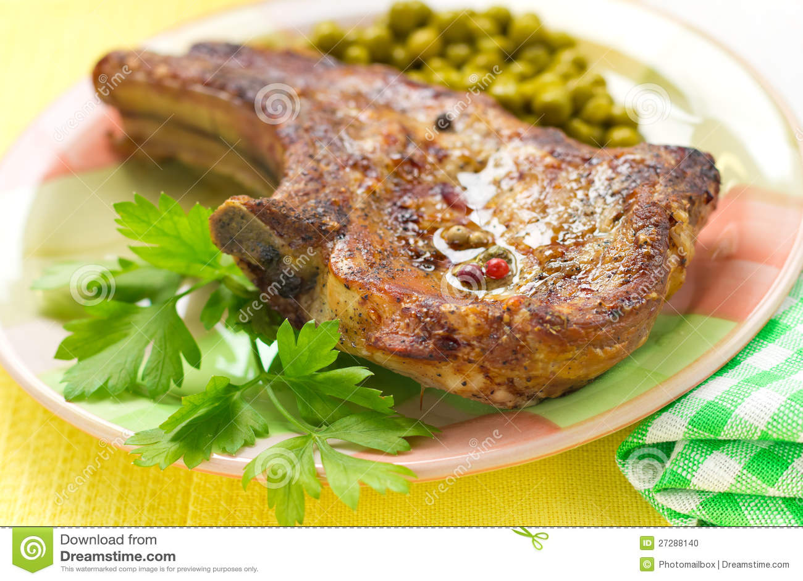 Bakad meat