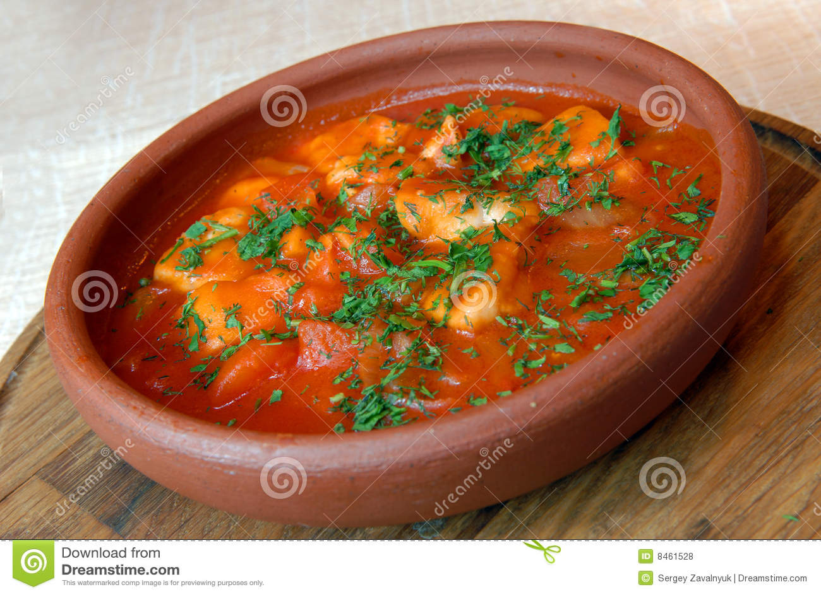 Bakad meatpotatis