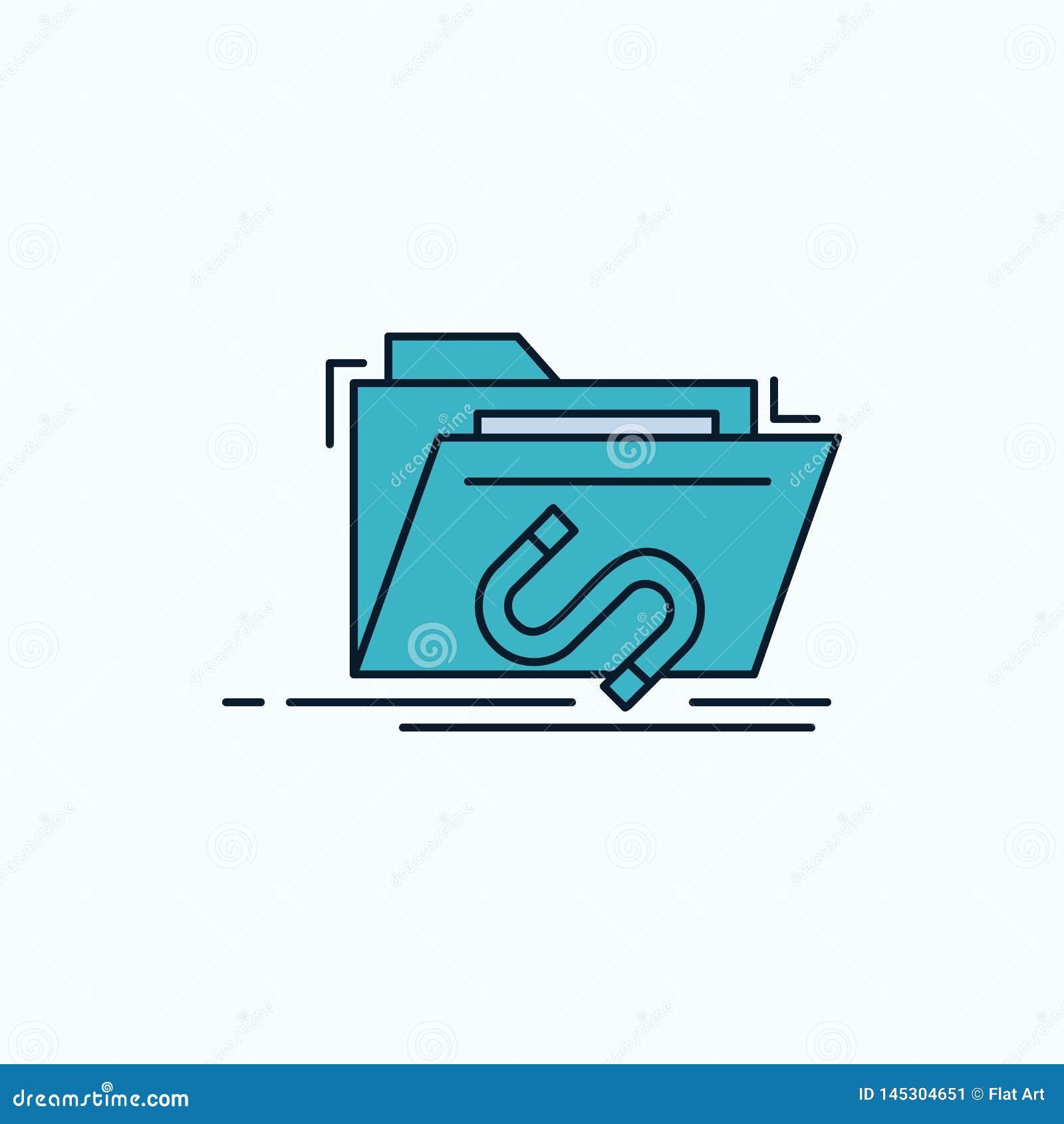 Bakdörr bedrift, mapp, internet, plan symbol för programvara gr?nt och gult tecken och symboler f?r website och mobil appliation