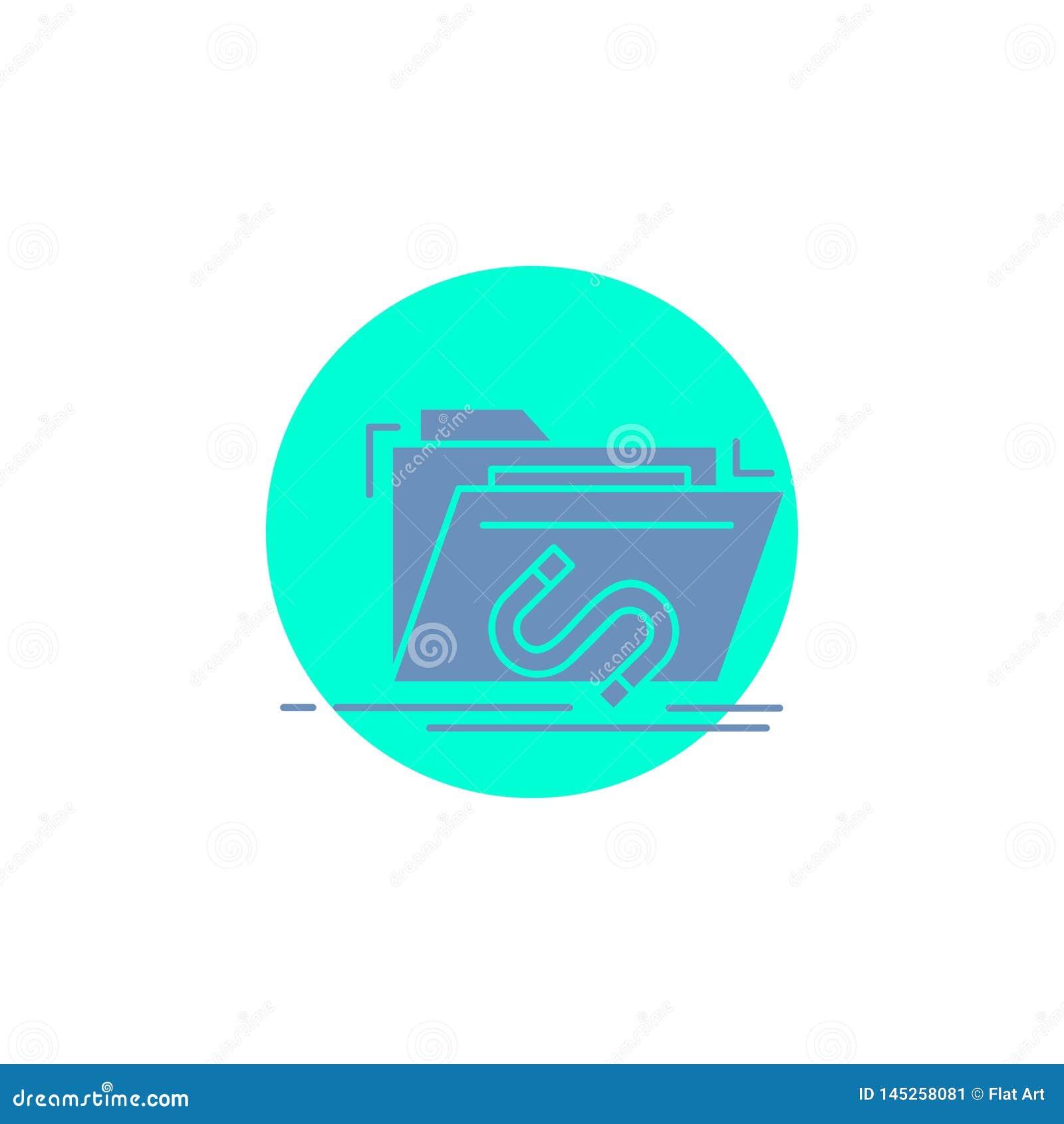 Bakdörr bedrift, mapp, internet, programvaruskårasymbol