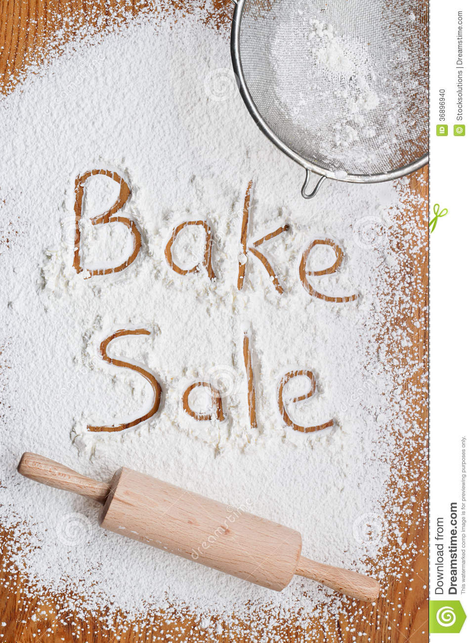 bake poster stock photo image  bake poster