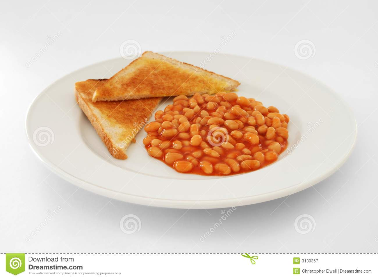 Baked Beans And Cheese Jacket Potato Stock Photo - Image: 43374823
