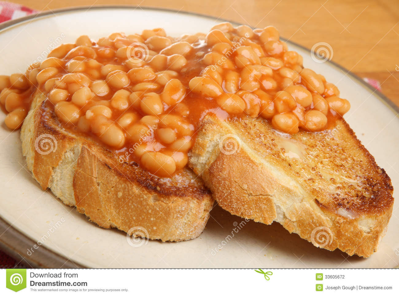 Beans+On+Toast Baked Beans On Toast Stock Photography - Image ...
