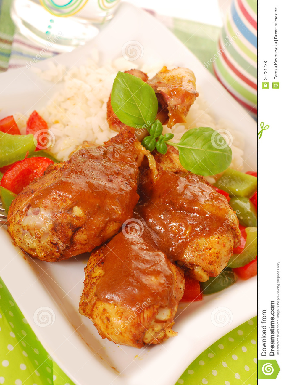 how to cook chicken legs curry