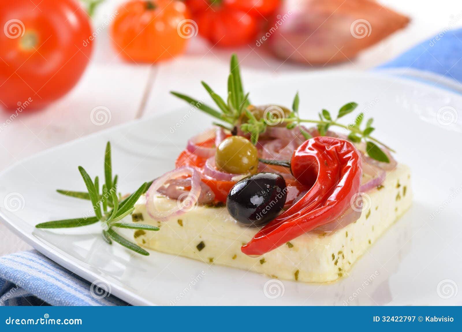 Baked Feta Cheese Royalty Free Stock Photography - Image ...