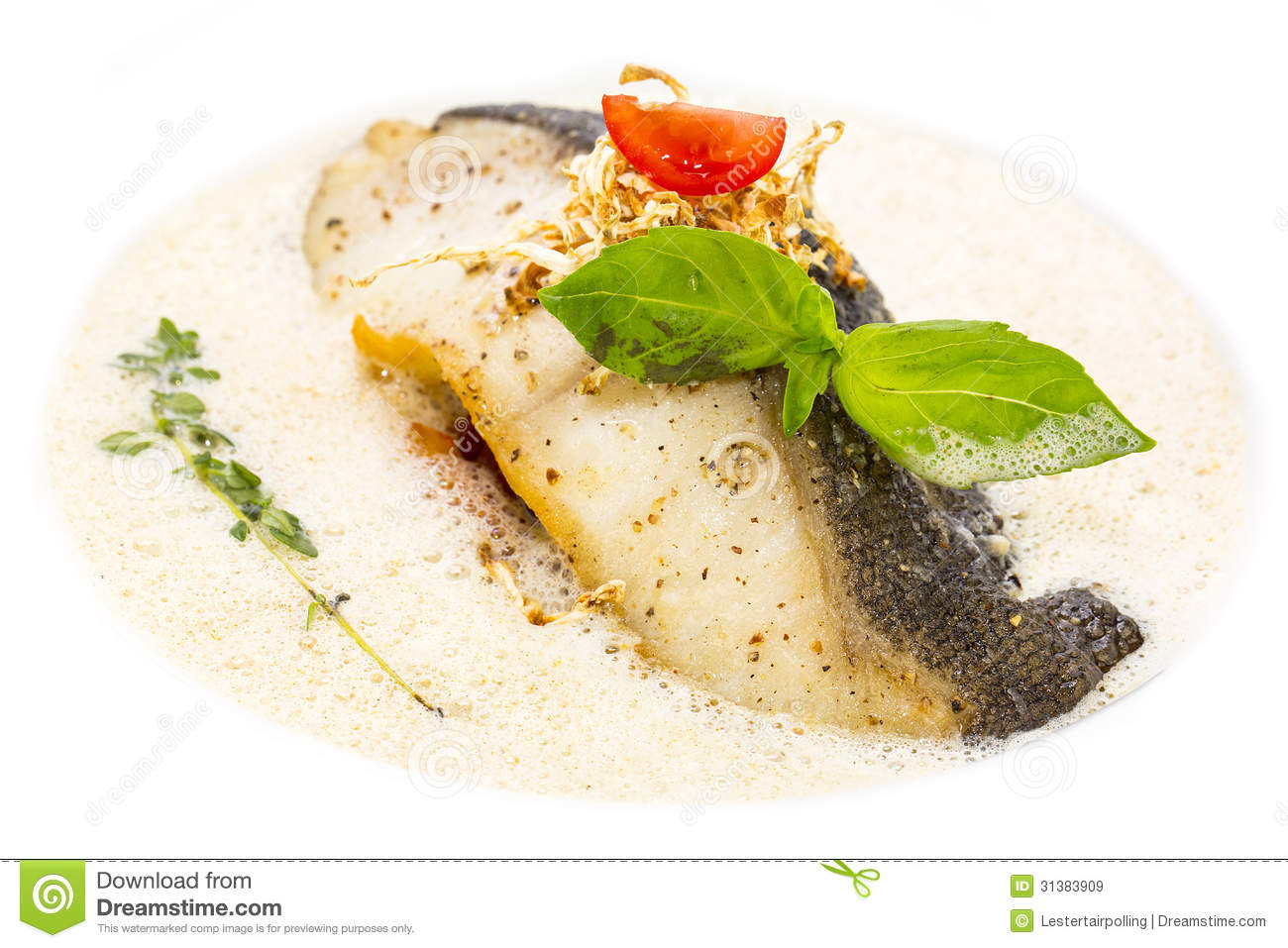 Sauce for baked fish fillet for Grilled white fish recipes