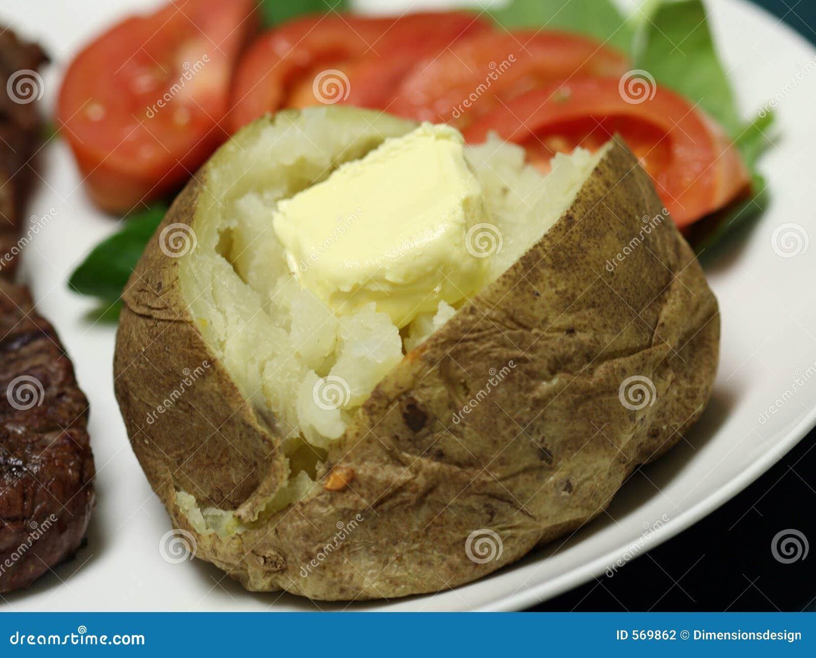 Baked Potato close up