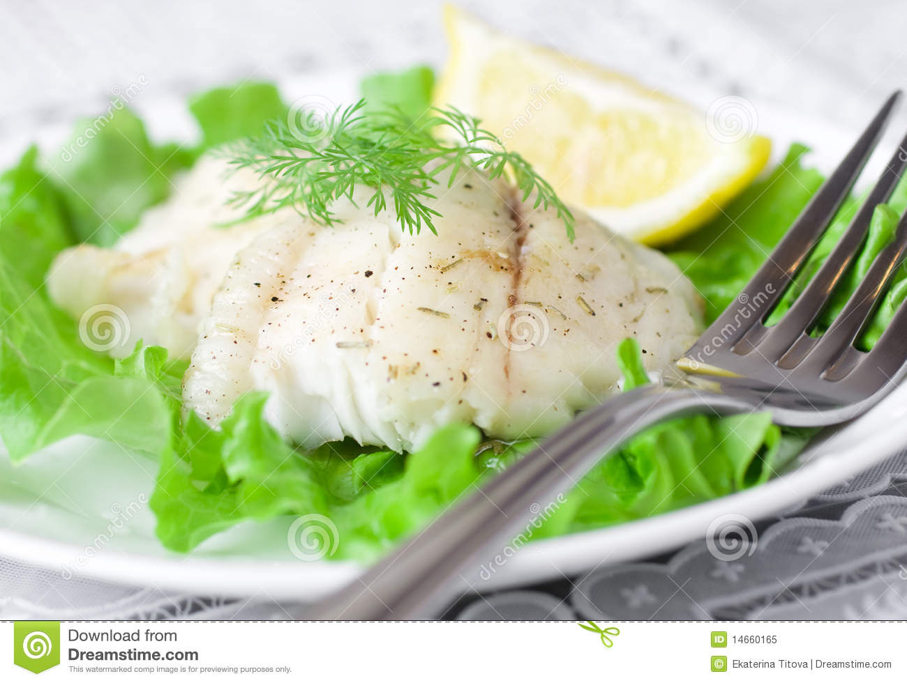 Baked white fish royalty free stock photo image 14660165 for Baked white fish