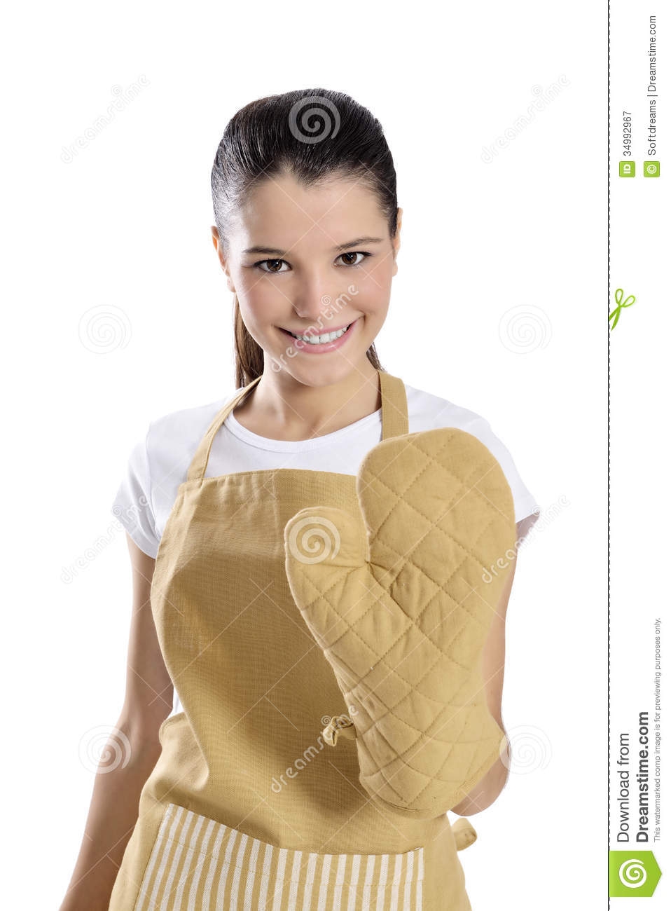 Baker Chef Woman Royalty Free Stock Photography Image