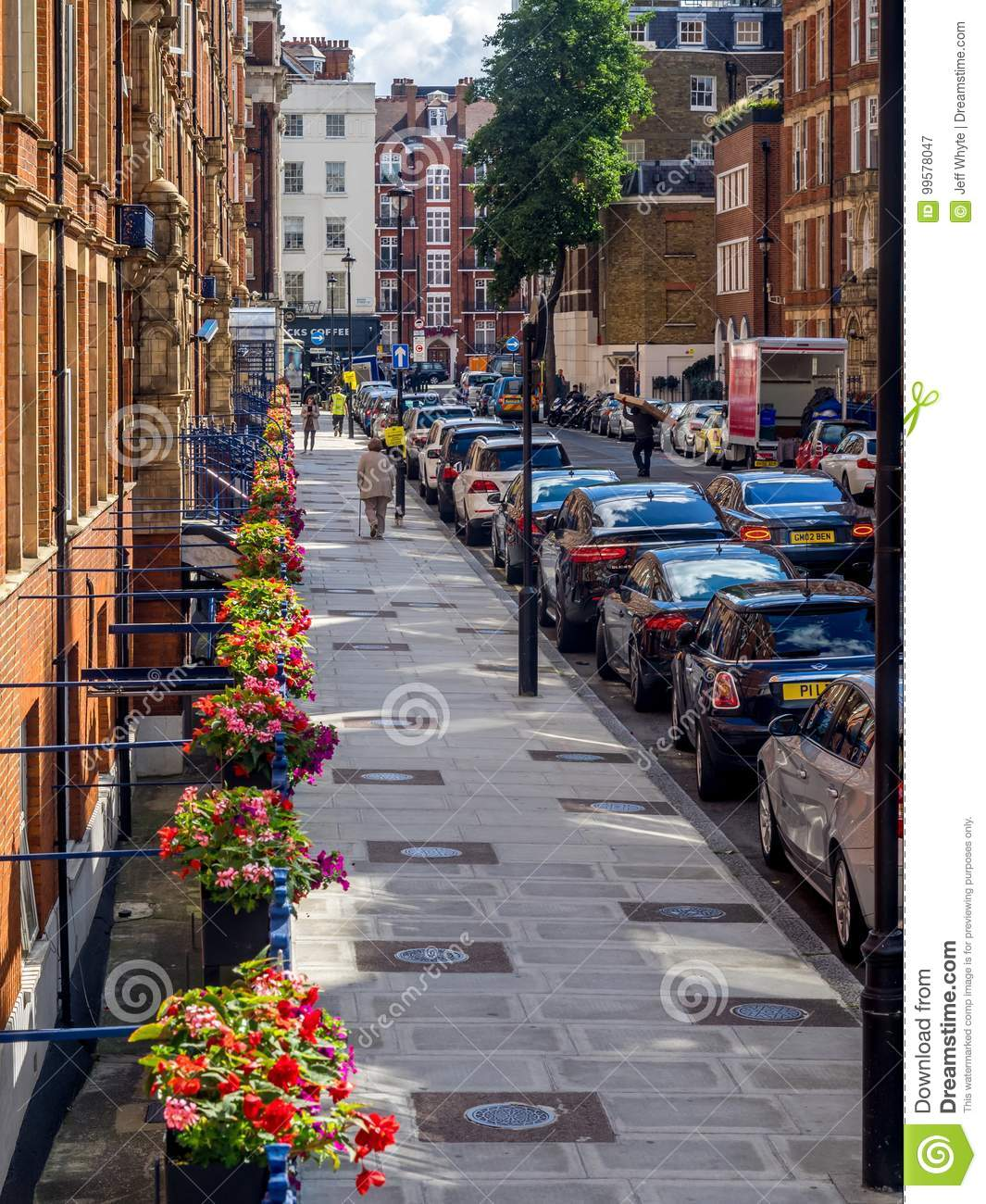 Baker Street in London editorial photography  Image of 221b
