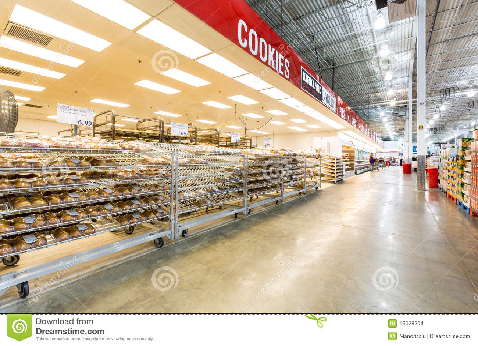 Bakery aisle in a costco store editorial stock image image of download bakery aisle in a costco store editorial stock image image of chain interior altavistaventures Images