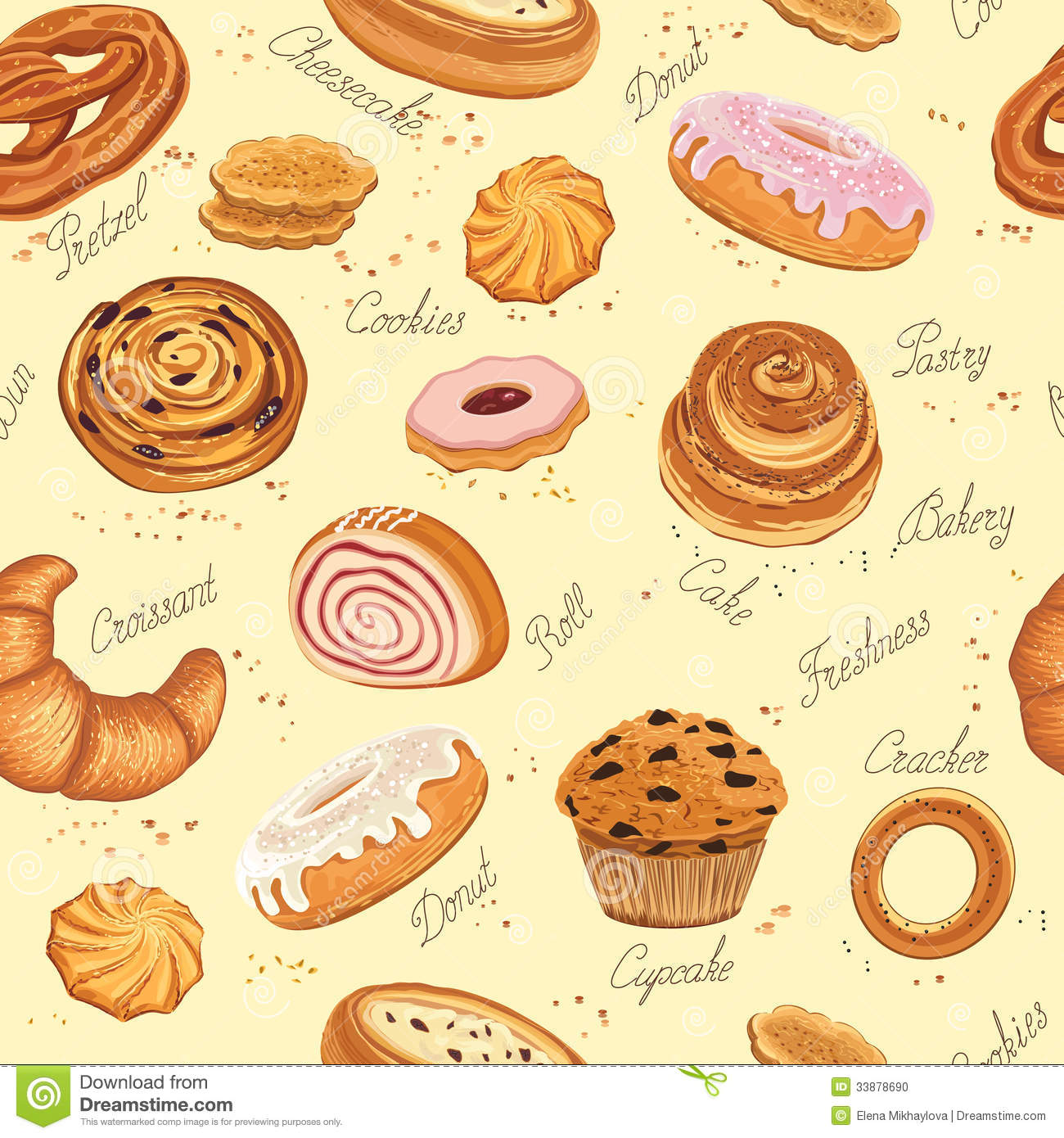 bakery background stock vector illustration of food free cooking clipart for kids free clipart cooking pot
