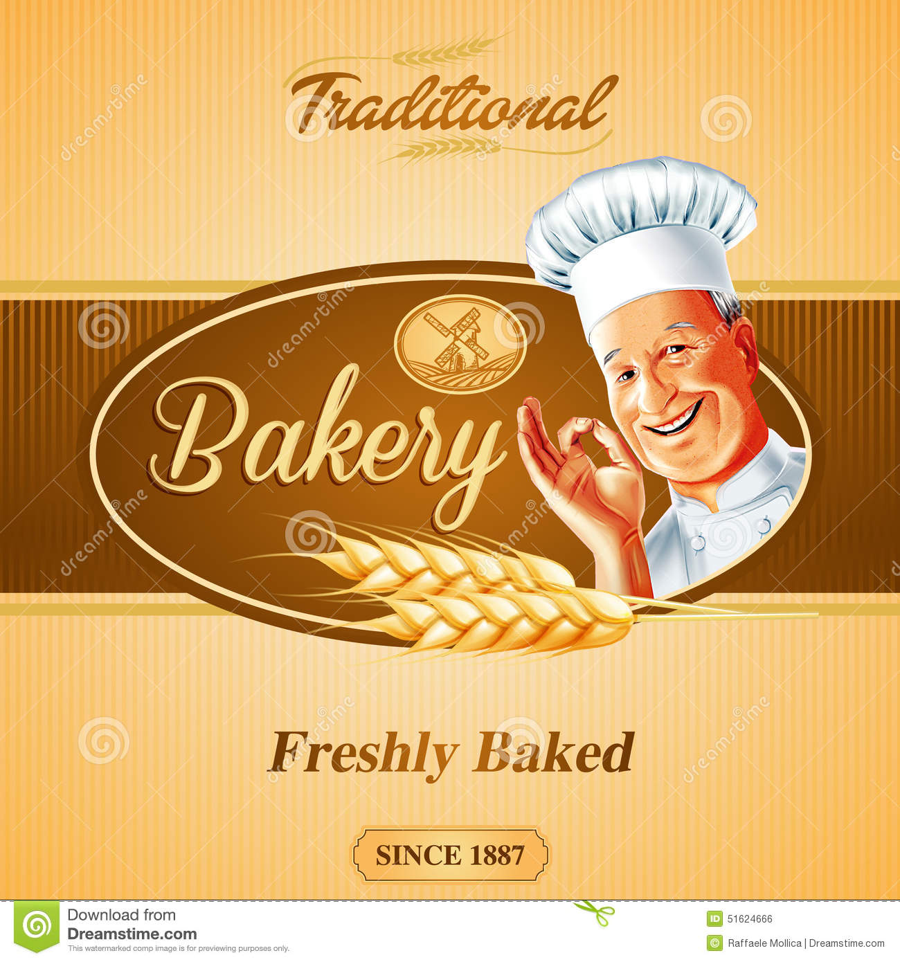 Bakery Banner Stock Vector Illustration Of Homemade