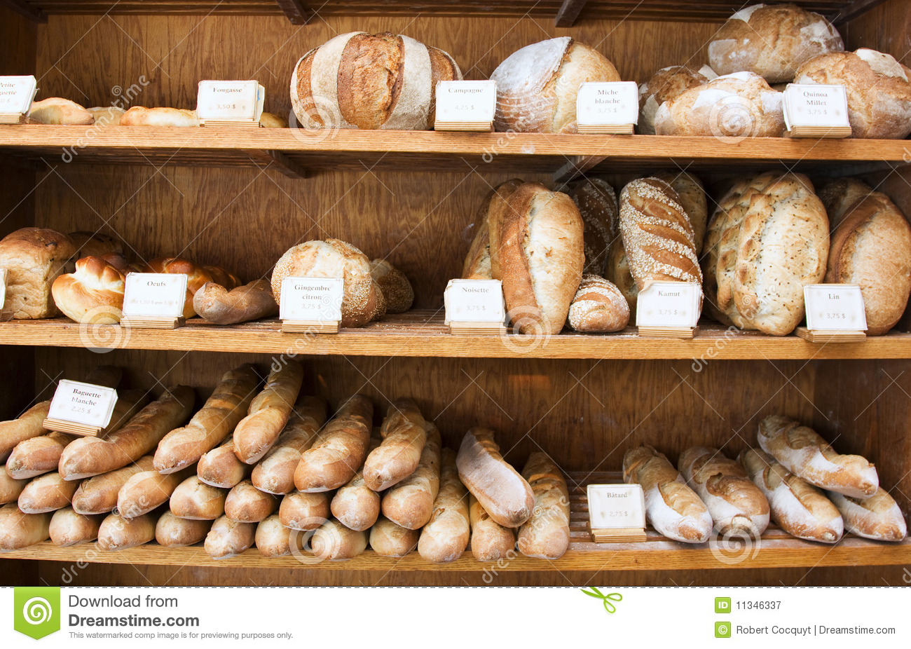 Bakery Bread Royalty Free Stock Photography Image 11346337