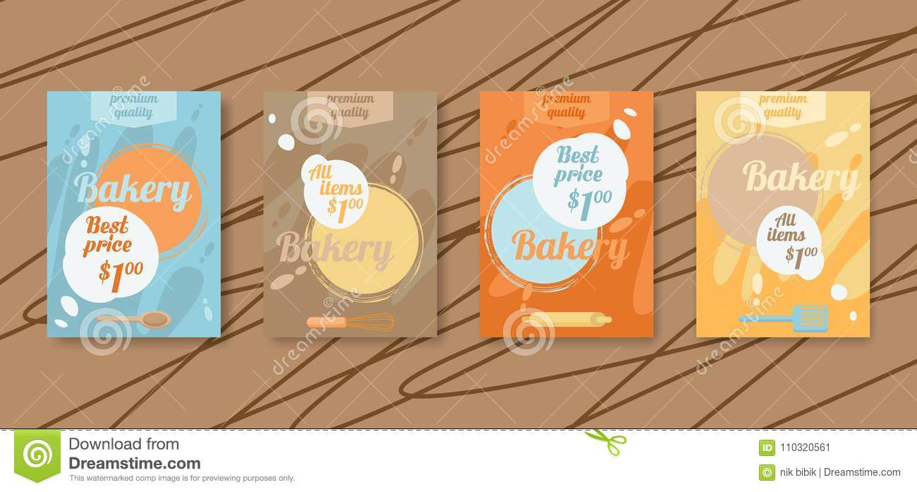 Bakery flyer discount cards sale online ticket banner for social download bakery flyer discount cards sale online ticket banner for social networks stock reheart Image collections