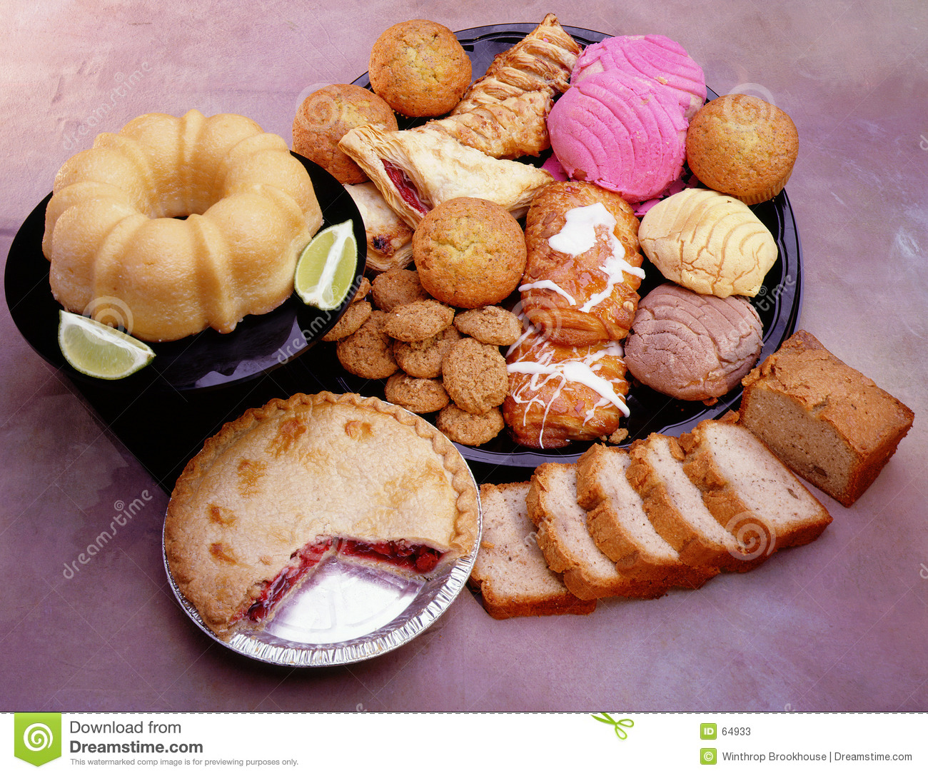 Bakery Goods Stock Photos - Image: 64933