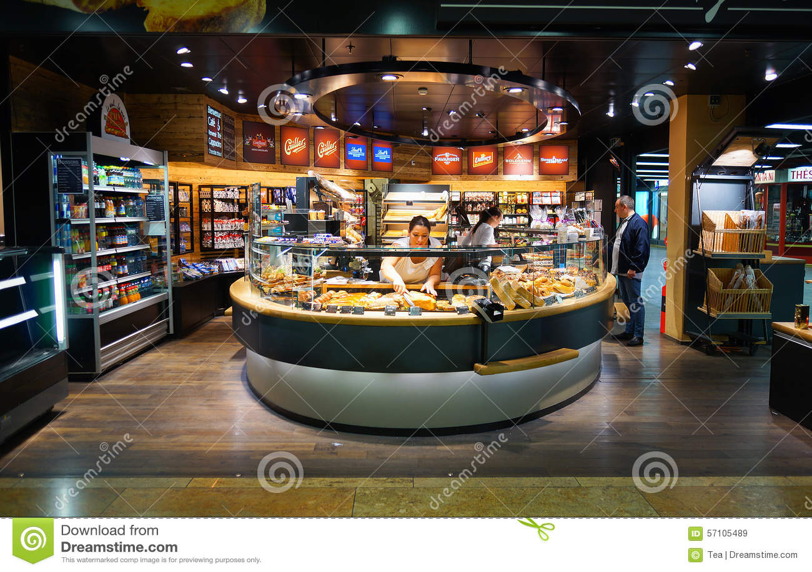 Bakery Interior Editorial Stock Image Image Of Shelf 57105489