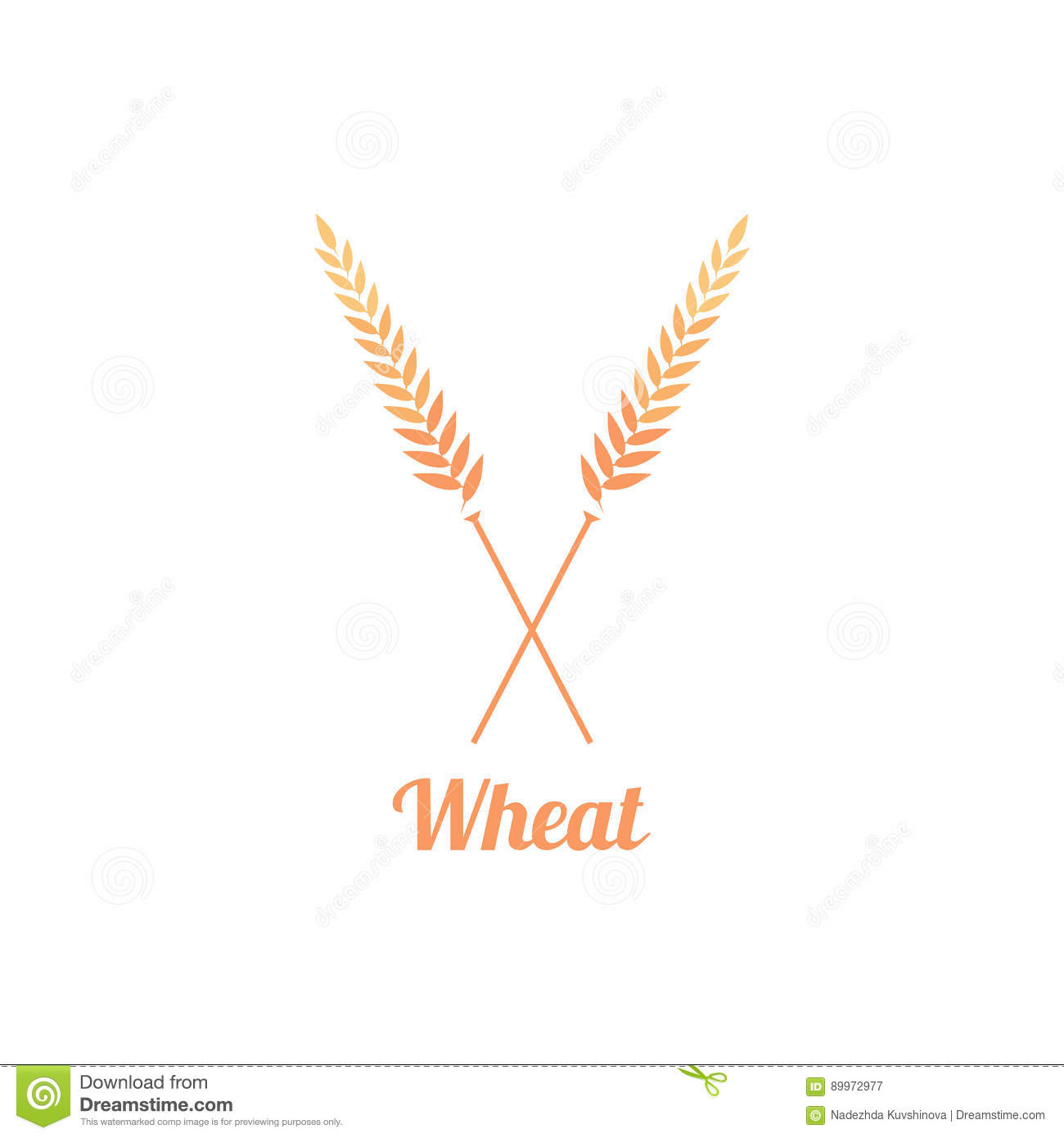 Bakery logo badge with wheat stock vector image 89972977 royalty free vector download bakery logo pronofoot35fo Image collections