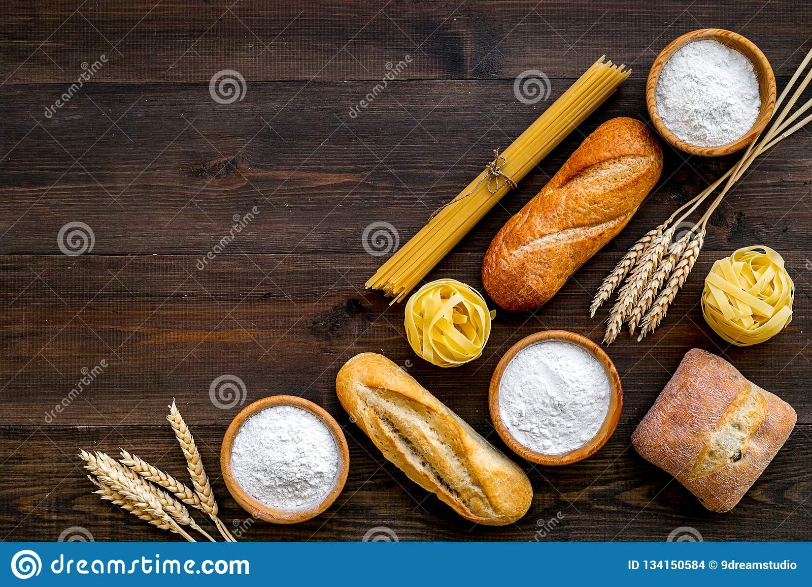 Manufacturing manufacture wheat flour bread