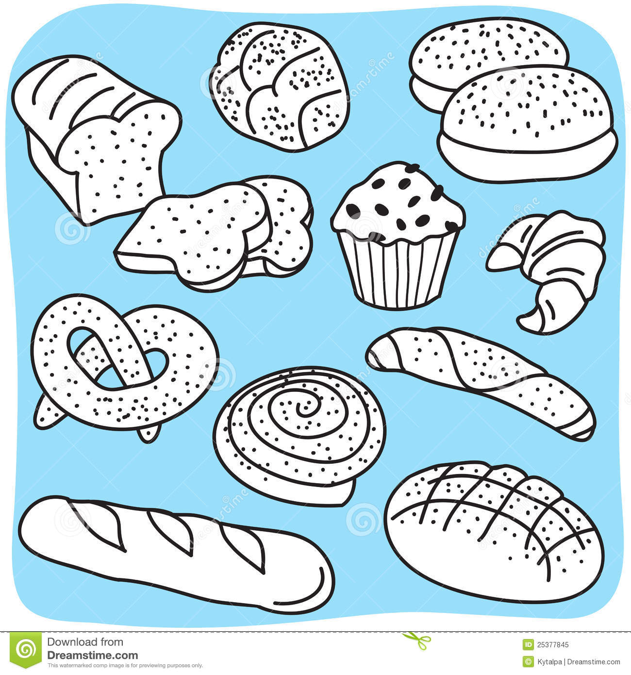 clip art images baked goods - photo #45